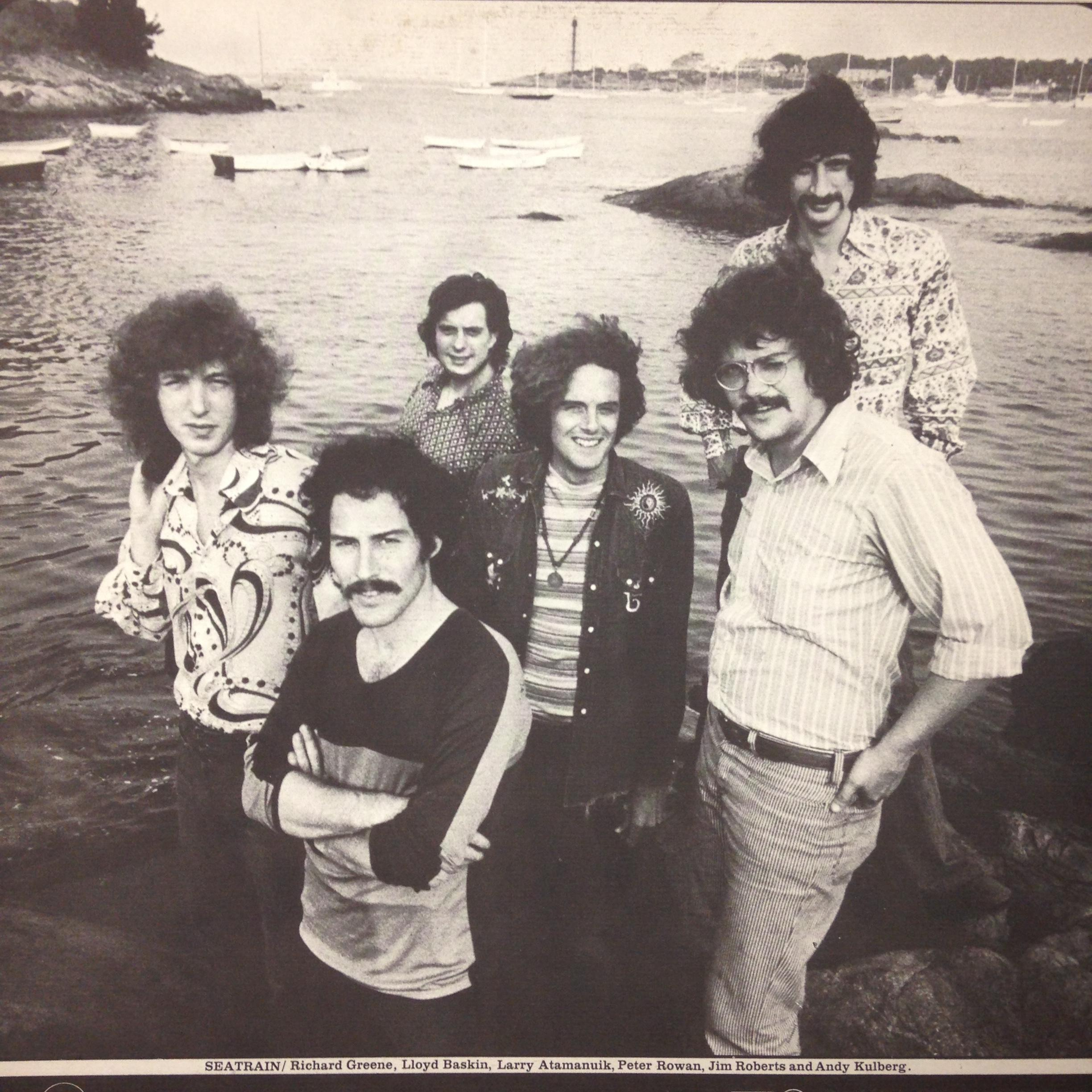 "Why Seaweed? - Word on our street, is that the location of Seaweed Studio was once a summer rental for famed Beatles producer, Sir George Martin. Martin spent the summer of 1971 in Marblehead with his family and 1970's band Seatrain (pictured) while producing their album, Marblehead Messenger. Parts of the album were recorded where we have our print studio! The band referred to our home as ""Seaweed Studios"""