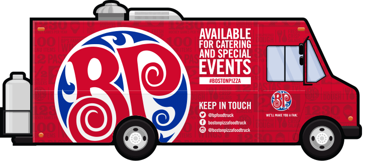 Boston Pizza Food Truck