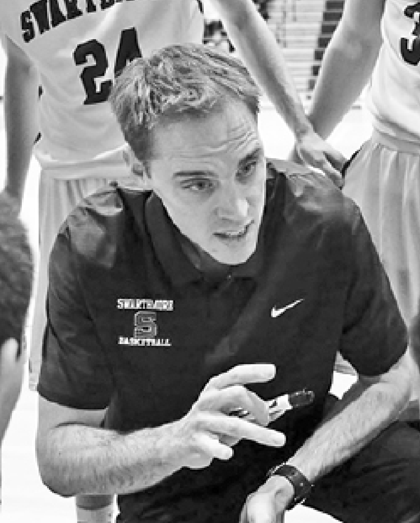 Swarthmore men's basketball coach Landry Kosmalski