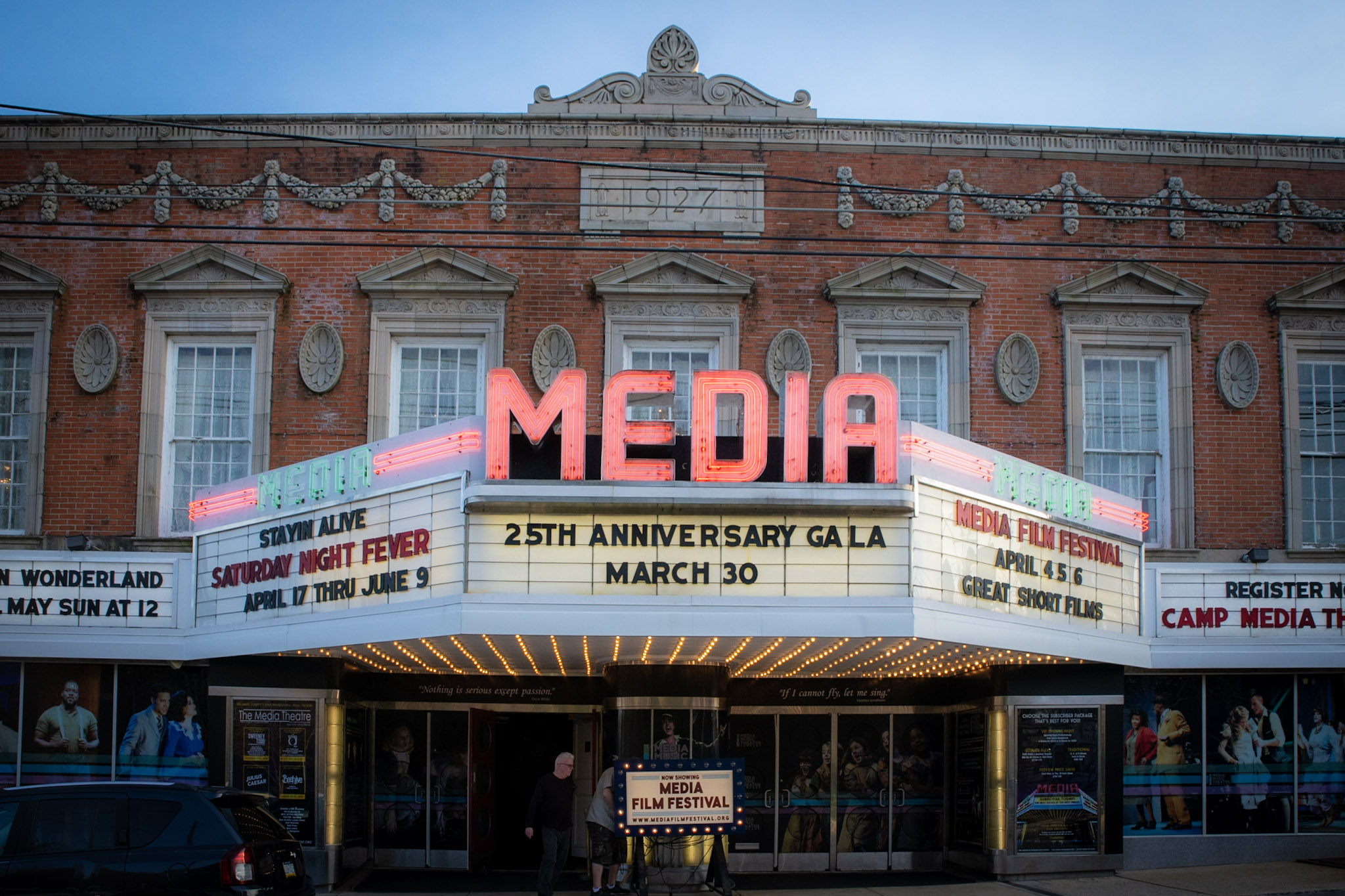 Photo courtesy of the Media Film Festival