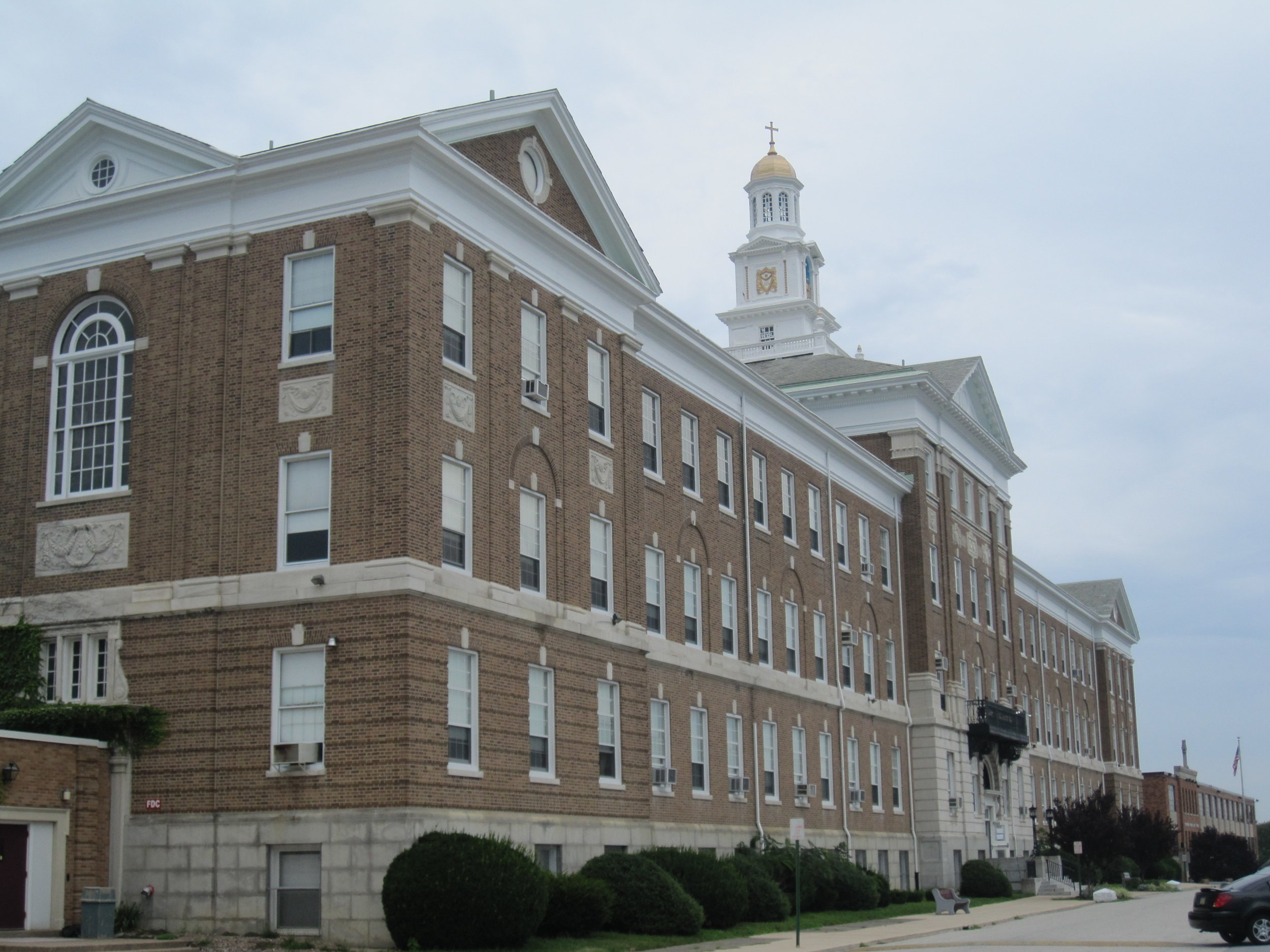 The old Archbishop Prendergast High School building. Photo courtesy of Scott McLeod under a  Creative Commons Attribution 2.0 Generic  license.
