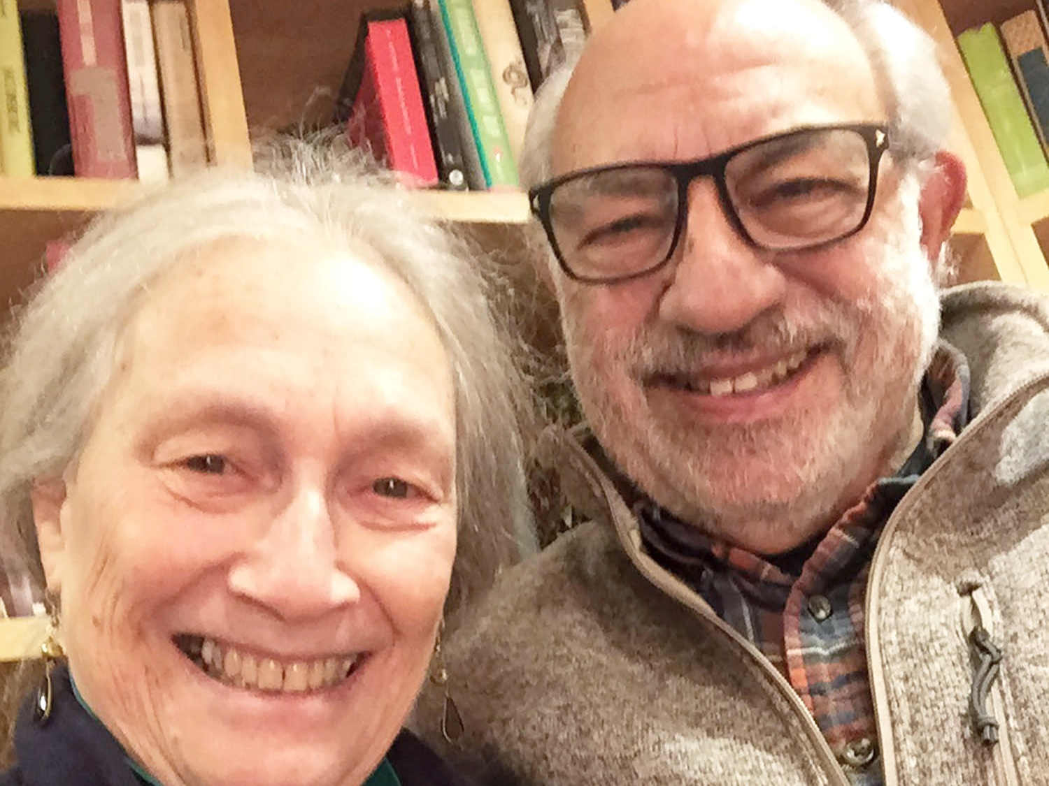 Retired editor/publisher   Swarthmore   Beth and Bob Gross pictured