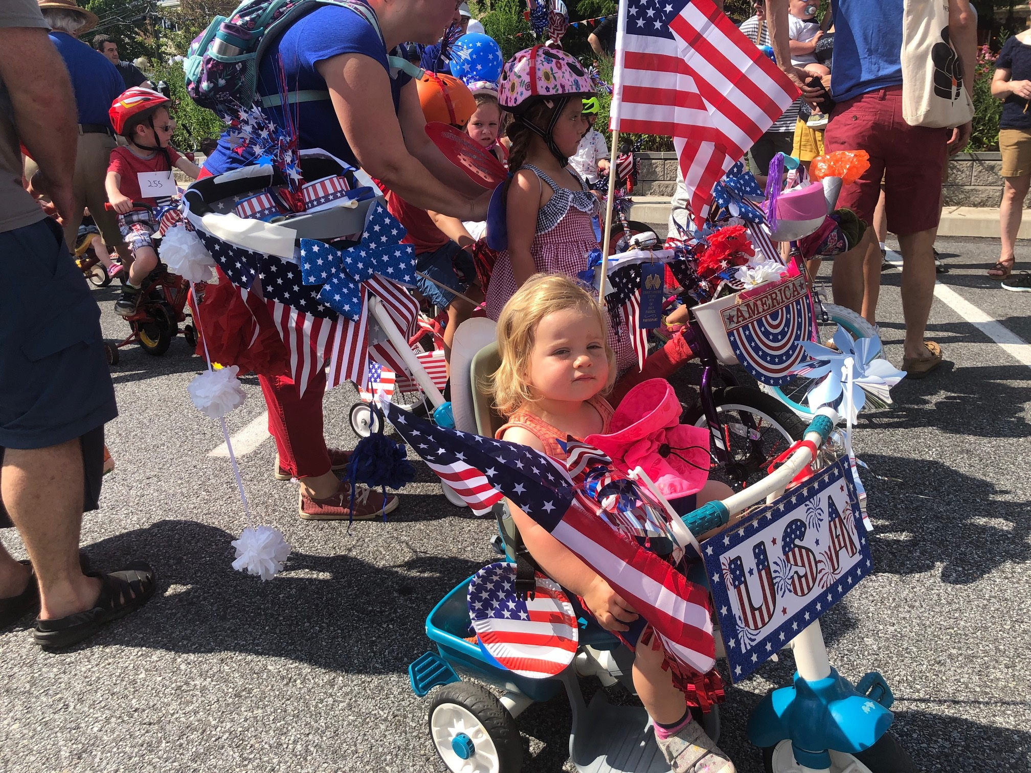 Independence Day celebration in Swarthmore