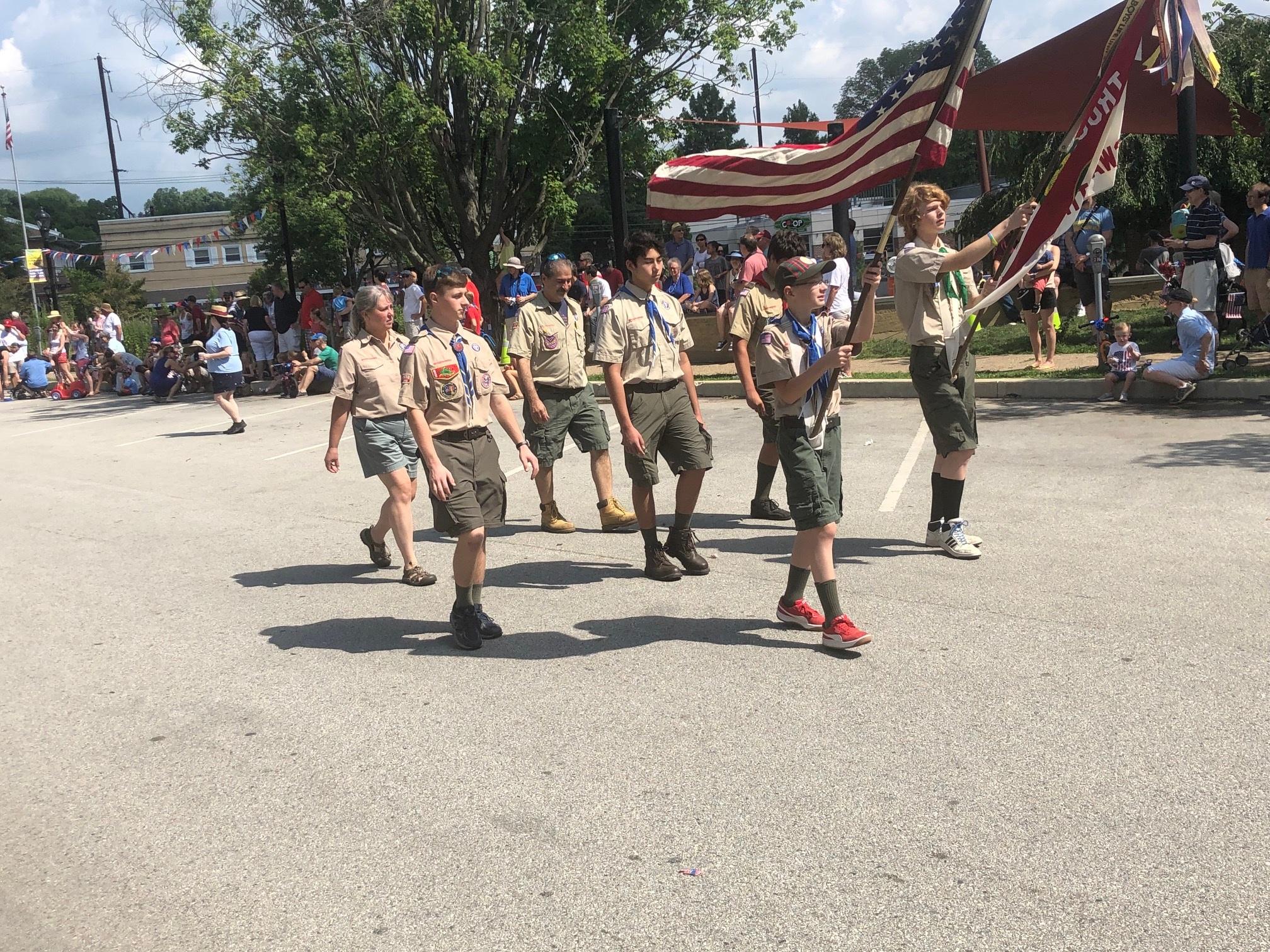 Swarthmore Boy Scouts