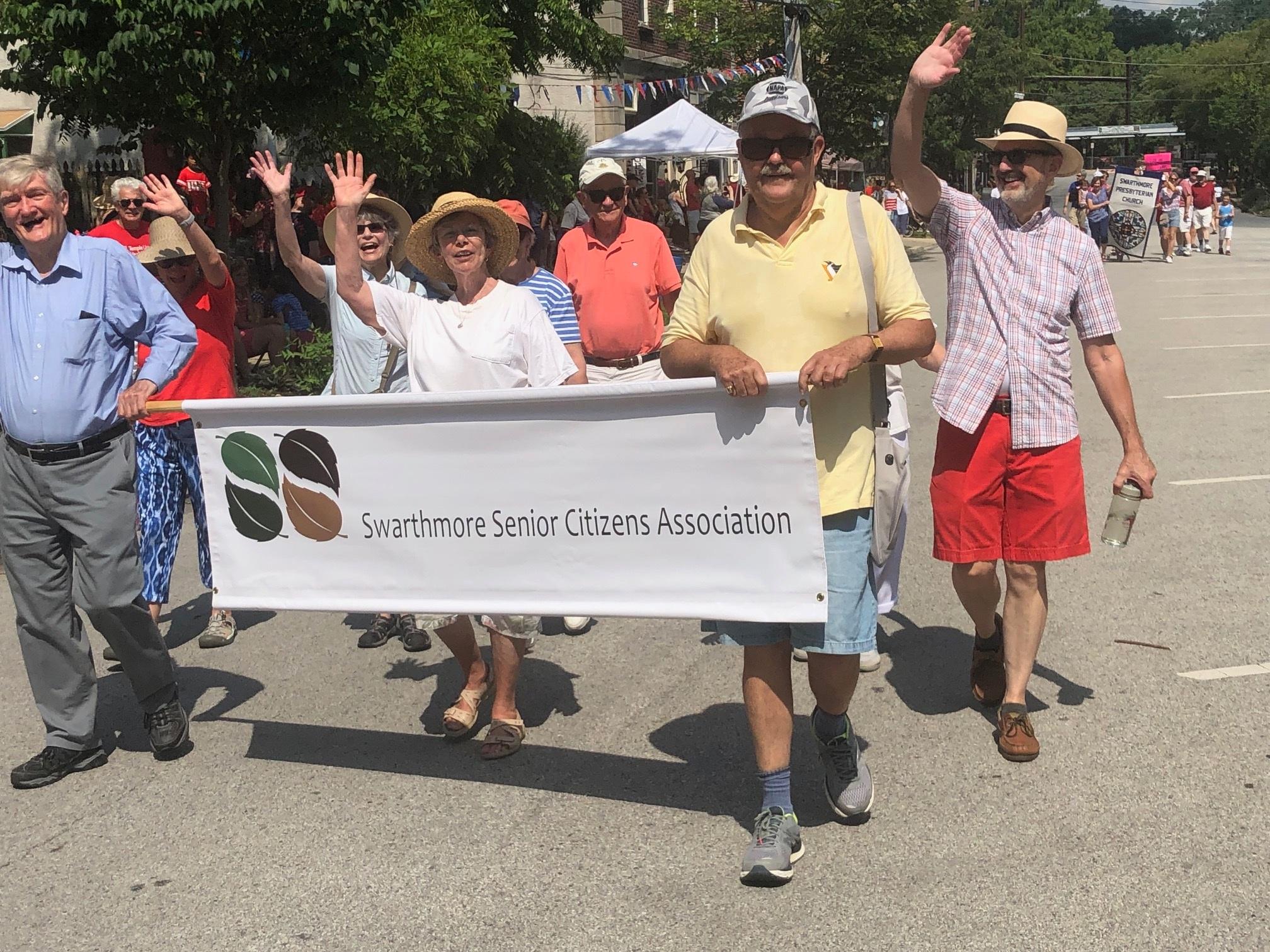 Members of the Swarthmore Senior Citizens Association