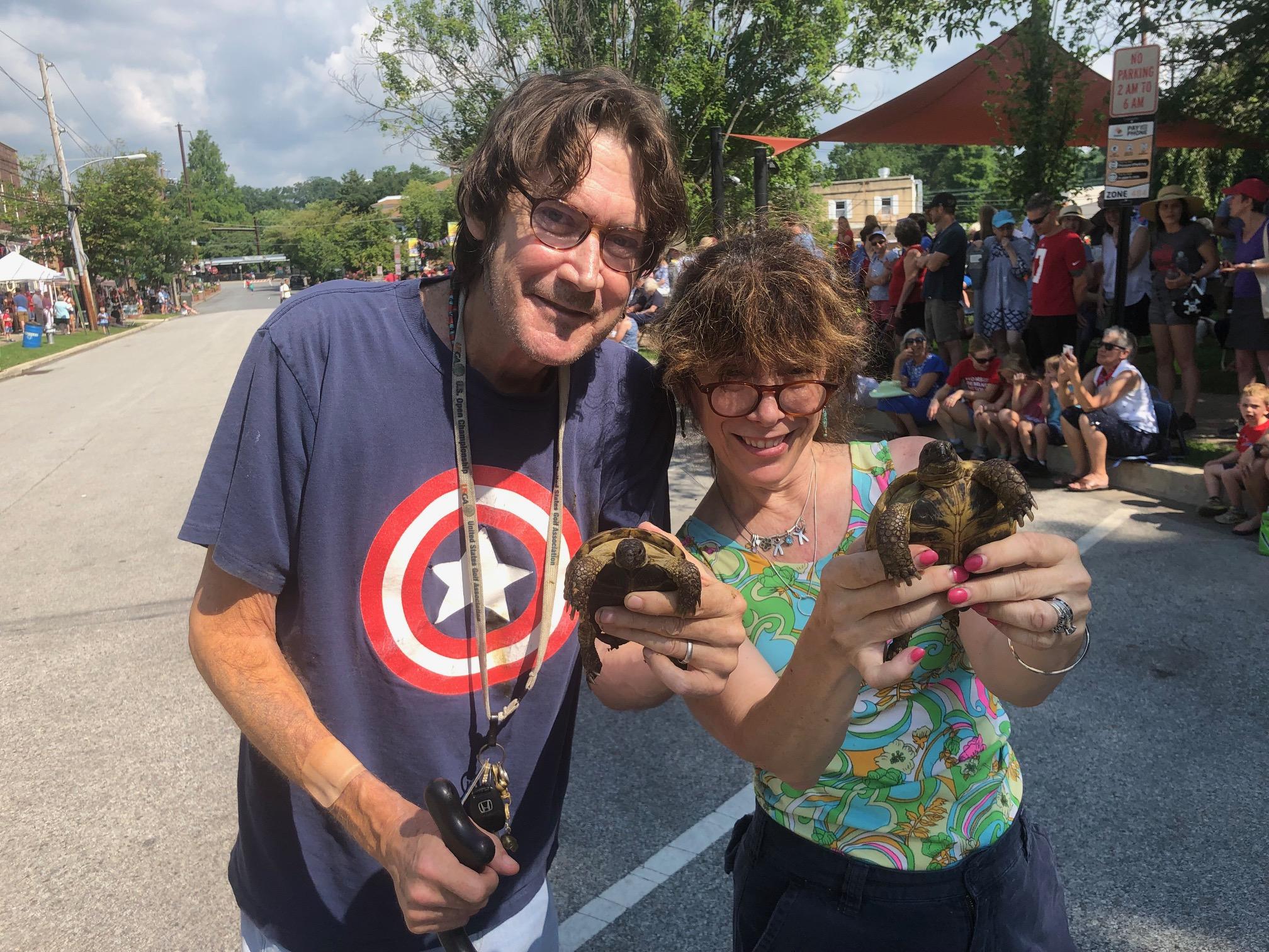 Swarthmore's resident turtles