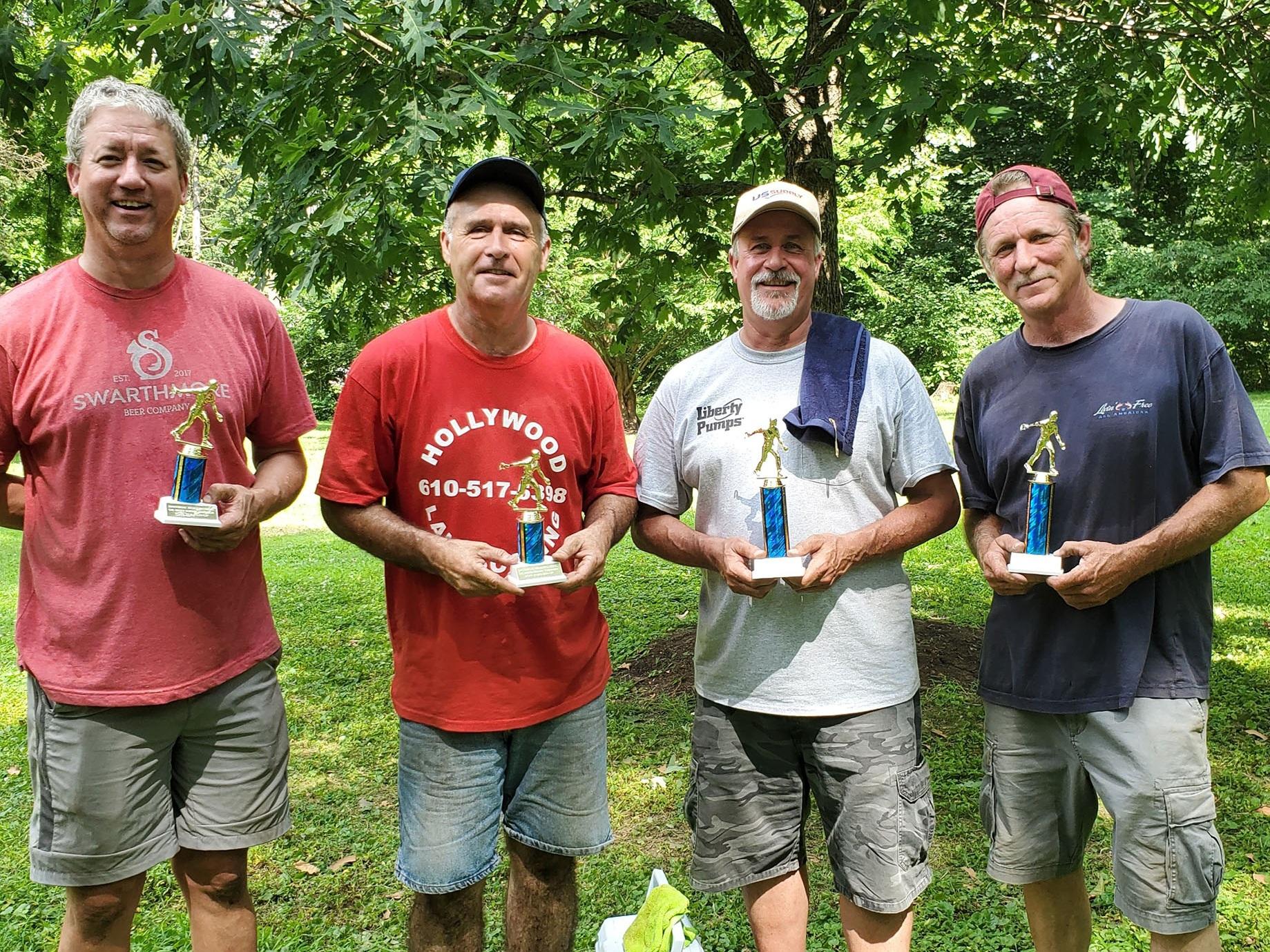 Swarthmore horseshoe contest winners