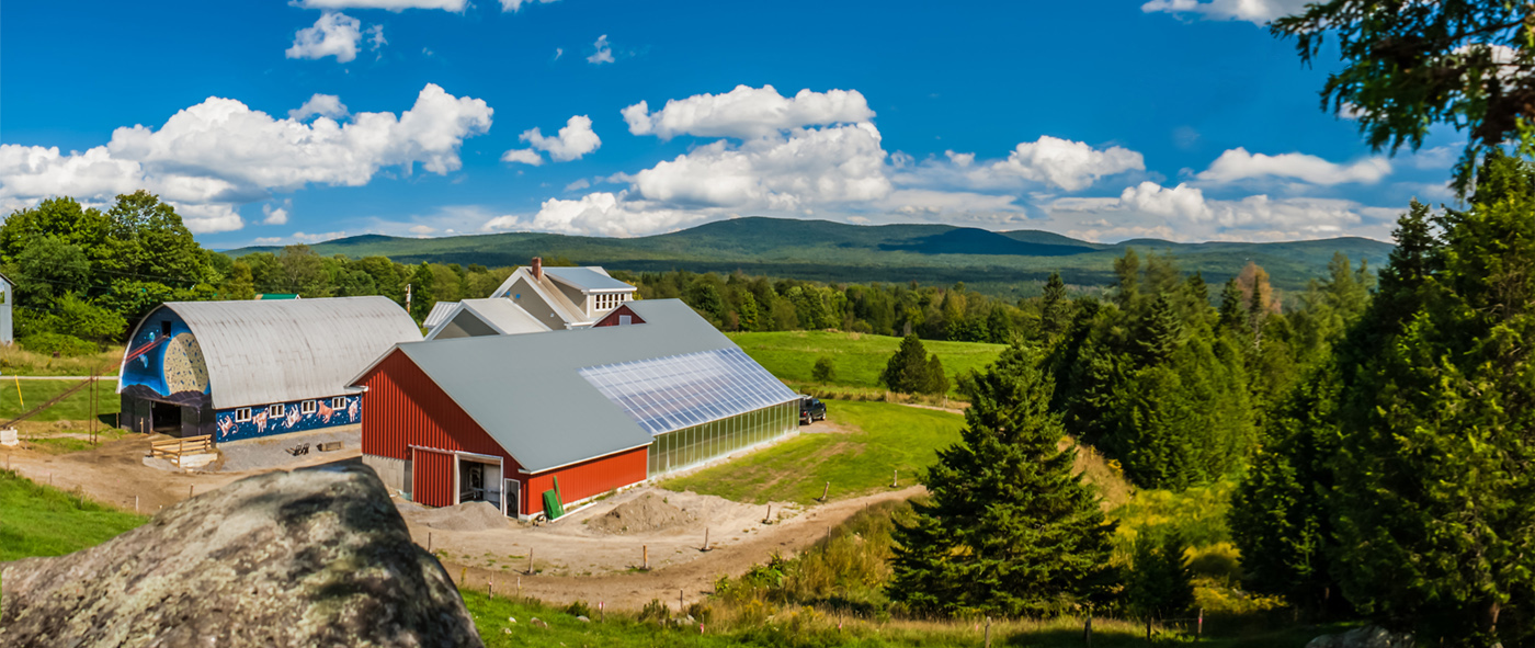 Jasper Hill Farm in Greensboro, Vermont.  Photo courtesy of Jasper Hill Farm.