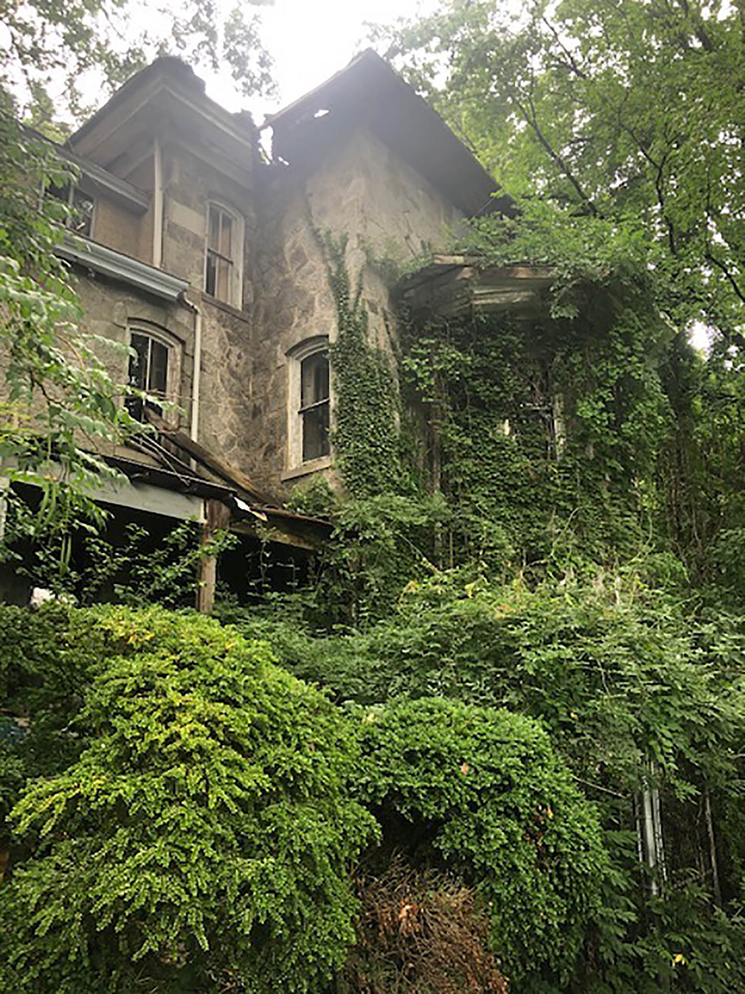 Empty for years, the house at 311 Cedar has been deemed uninhabitable by Swarthmore Borough.