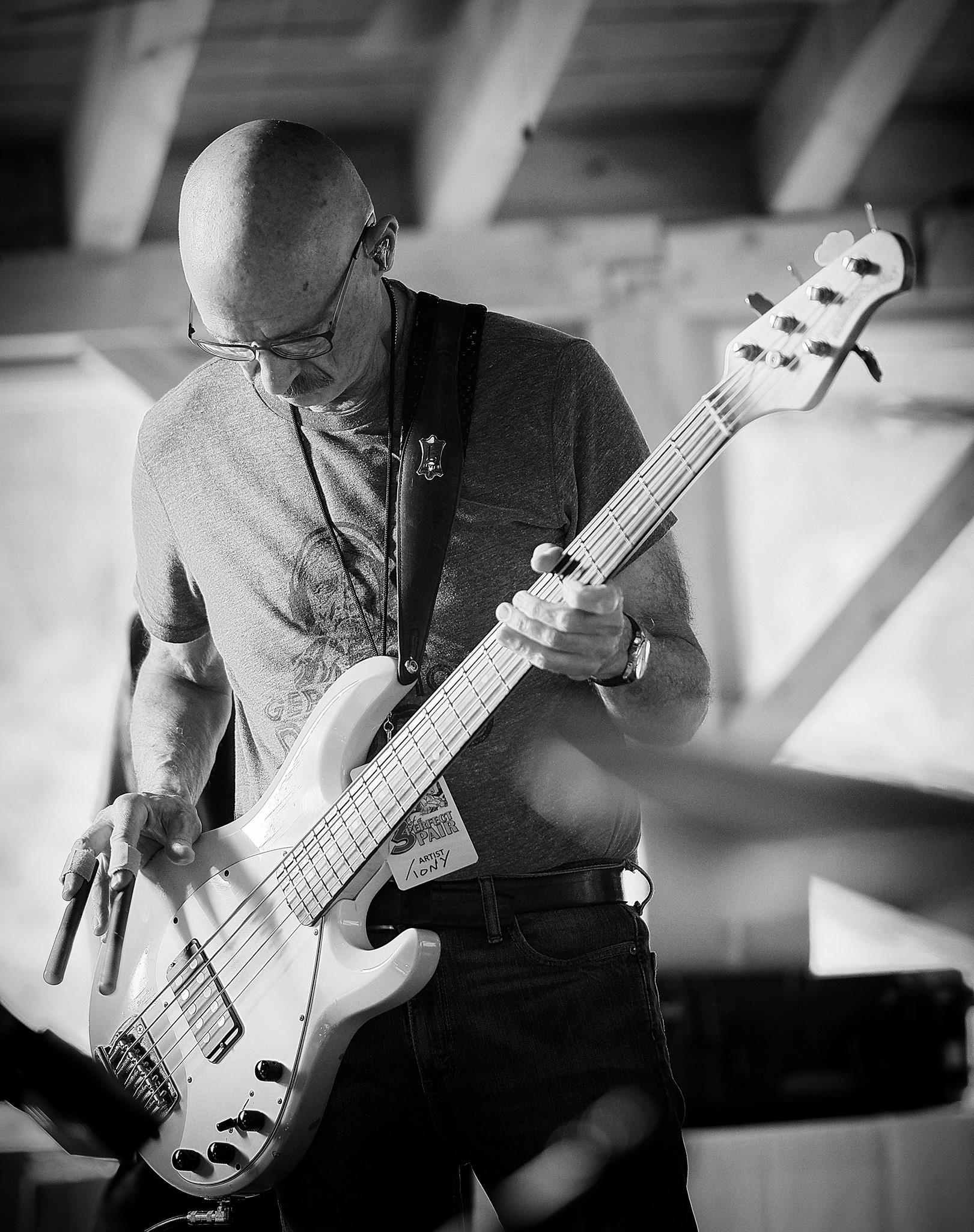 Tony Levin on Bass