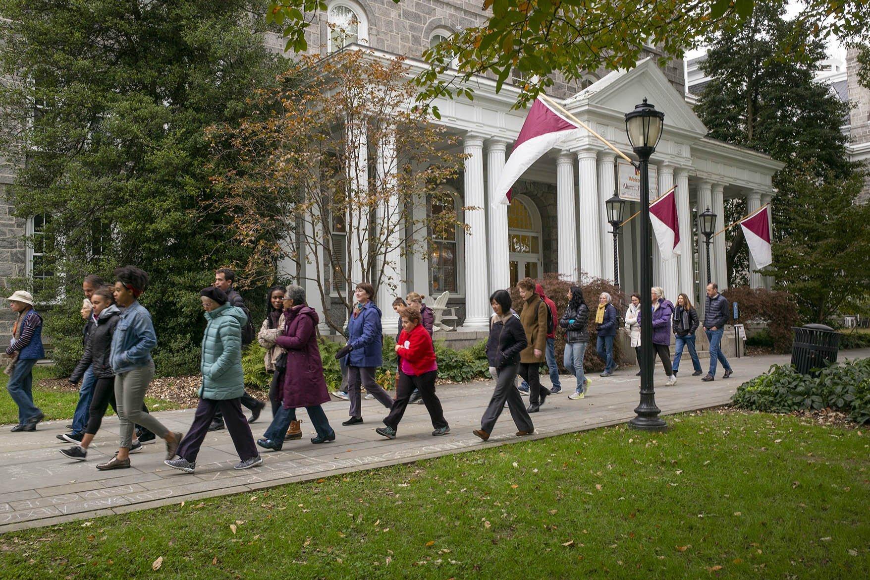 Garnet Weekend at Swarthmore College.  Photo courtesy of Swarthmore College.