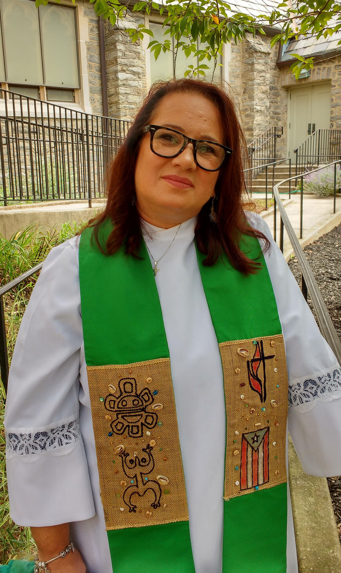 Pastor Lydia Munoz of Swarthmore United Presbyterian Church.