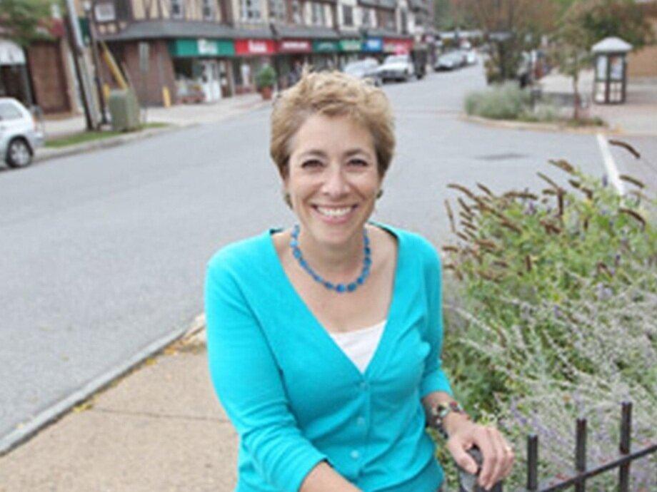 Swarthmore Borough Manager Jane Billings