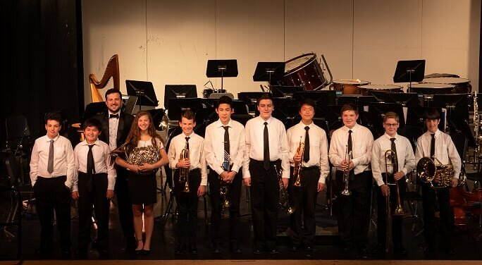 Young Musicians Orchestra in Spring 2019