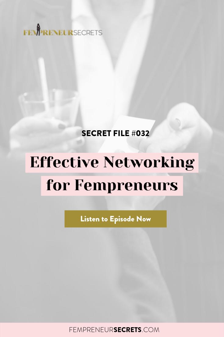 Effective Networking for Female Entrepreneurs