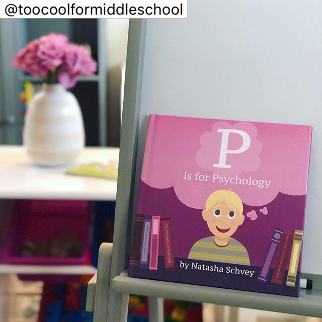 Cutest little social science addition to the playroom bookshelf. @teachlikeagirl have you seen this one? 📚 💭 . @pisforpsychology #psychforkids #childrensbookshelf  Thanks so much for the shout-out @toocoolformiddleschool!!