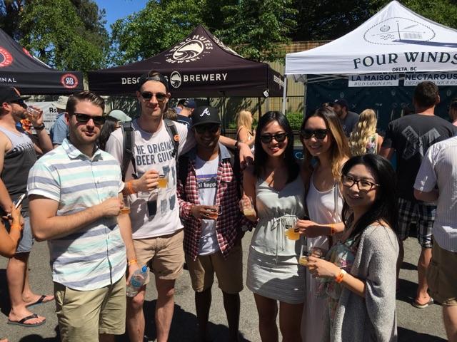 craft beer vancouver vcbw van pours