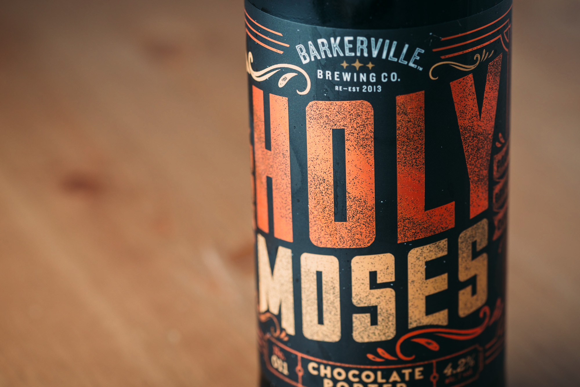 Barkerville Brewing Co. Holy Moses Chocolate Porter Quesnel B.C. Craft Beer