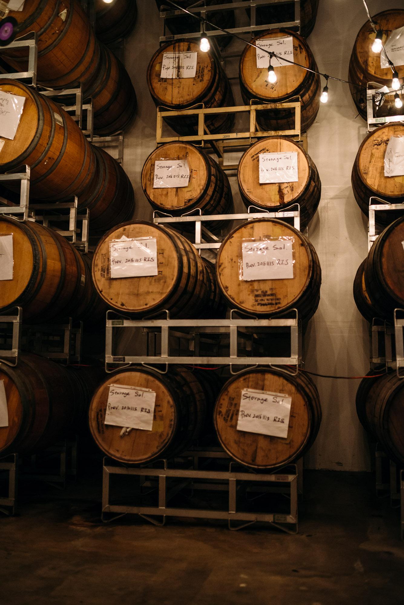 Parallel 49 Brewing; East Vancouver; yeastvan; barrel-aged, craft beer; bc beer