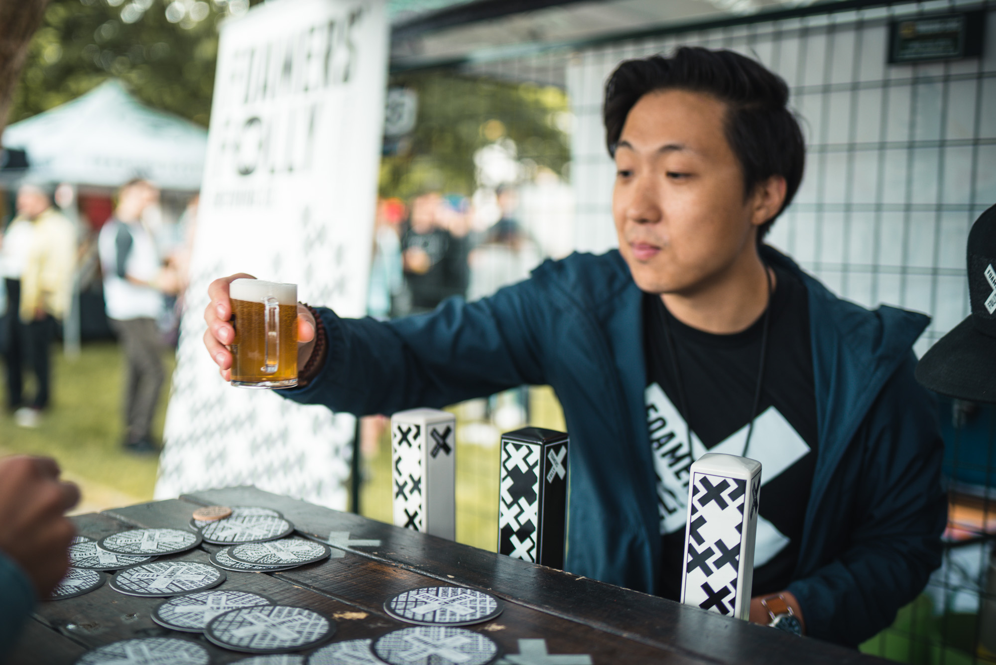 Foamers' Folly Brewing vcbw vancouver craft beer week festival IPA