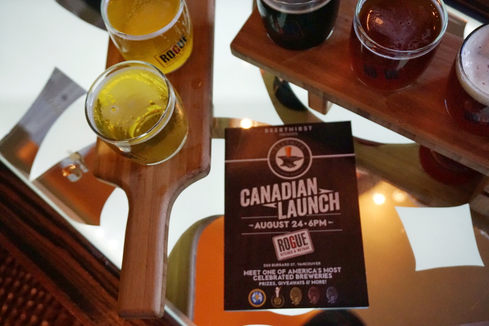 beerthirst alesmith brewing craft beer tap takeover vanpours