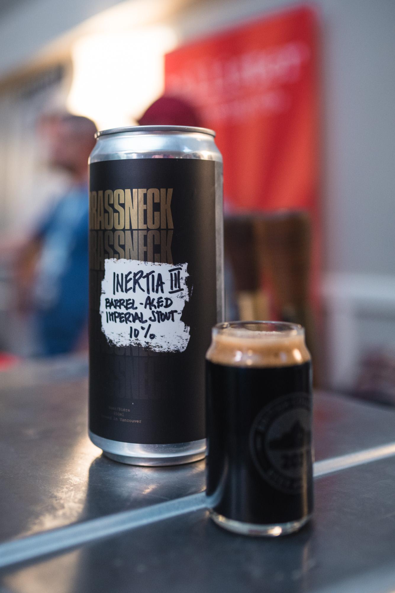 Brassneck Brewing BCBA2017 BCBA imperial stout bourbon barrel-aged craft beer vanpours