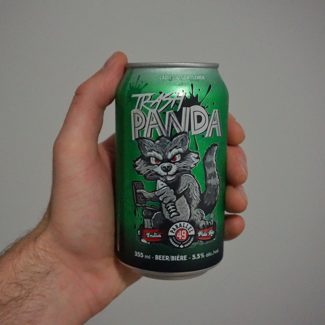 parallel 49 trash panda hazy IPA BC craft beer india pale ale vanpours