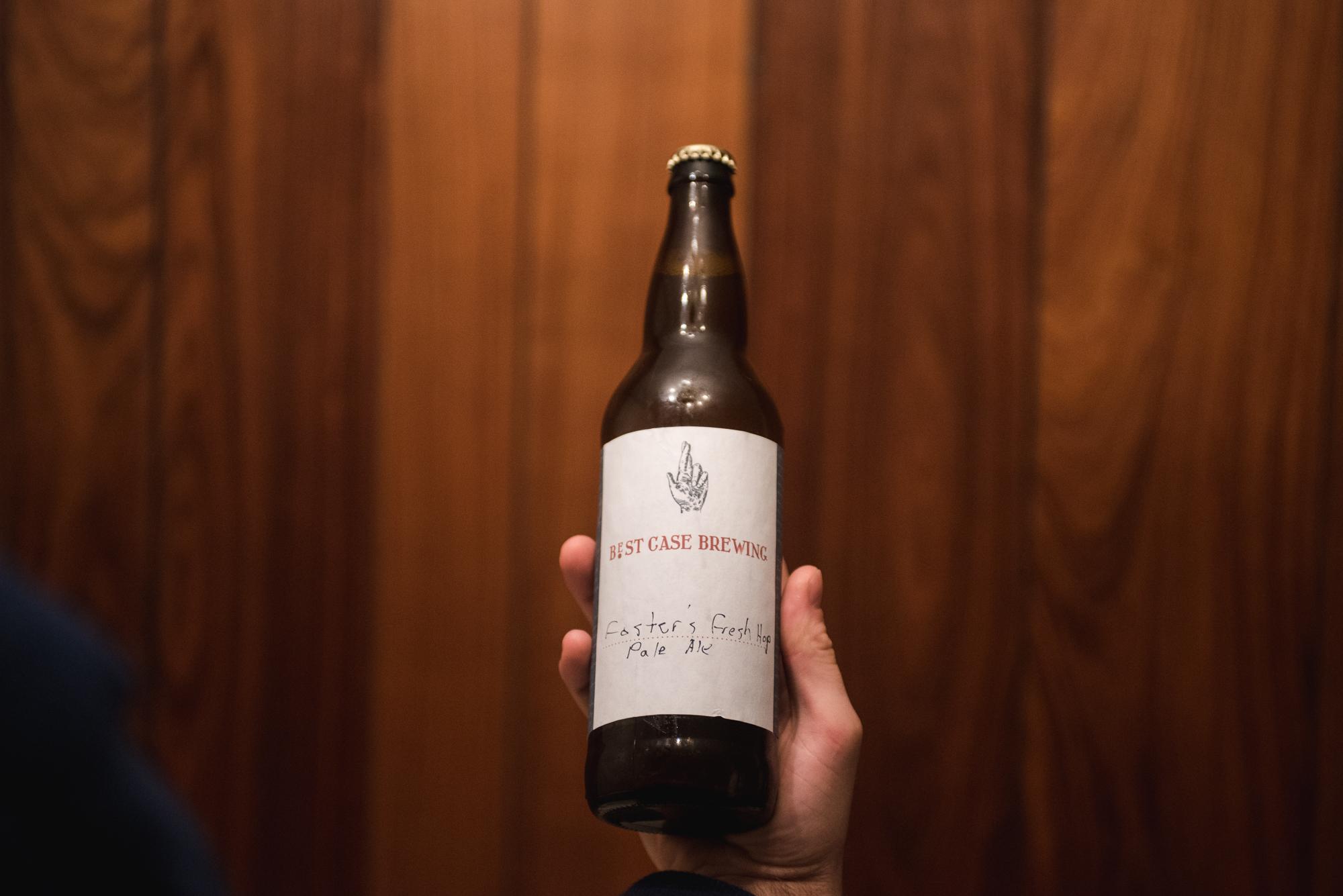 Best Case Brewing Fresh Hop Pale Ale vanpours Casey Foster