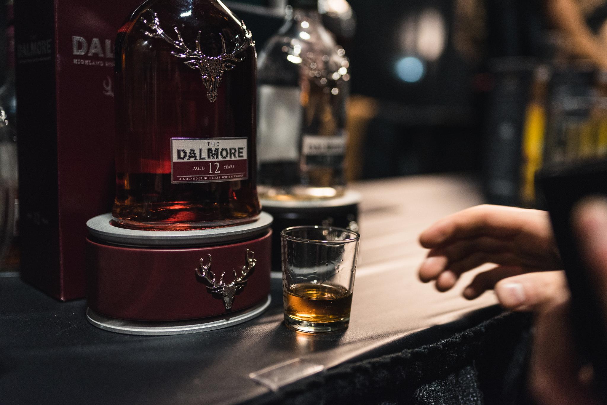 The Dalmore 12 Year Old Highland Single Malt Whiskey vanpours Hopscotch Festival