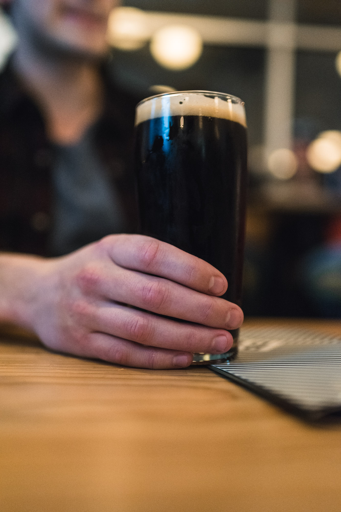 Steel & Oak Brewing fig stout craft beer vancouver Bells and Whistles YVR vanpours
