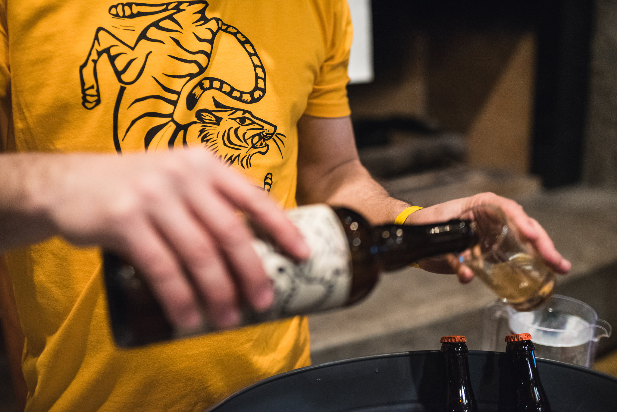 Coquitlam Craft Beer Festival Strange Fellows Brewing Tigertail Saison vanpours Luke Mikler Photography