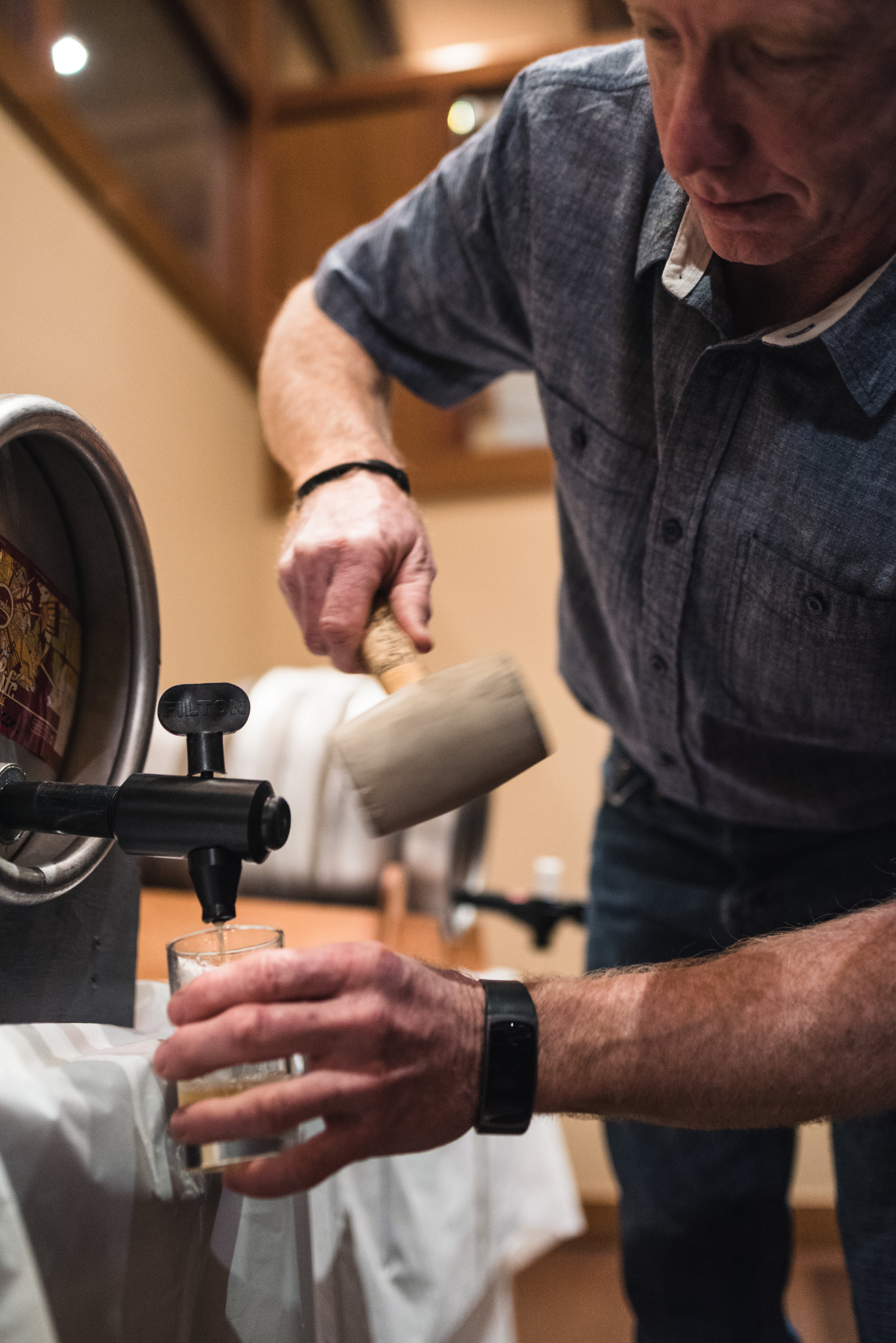 Coquitlam Craft Beer Festival cask vanpours