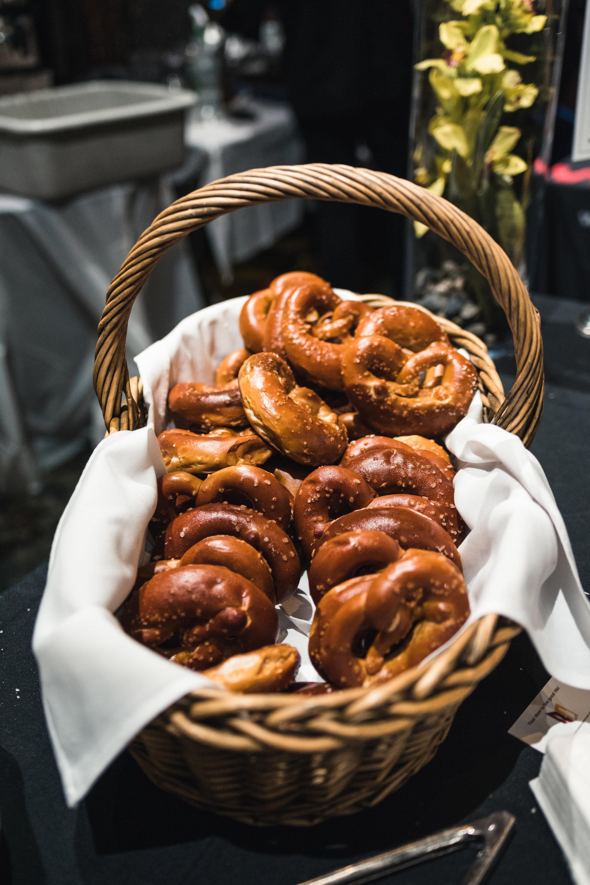 Coquitlam Craft Beer Festival_pretzels