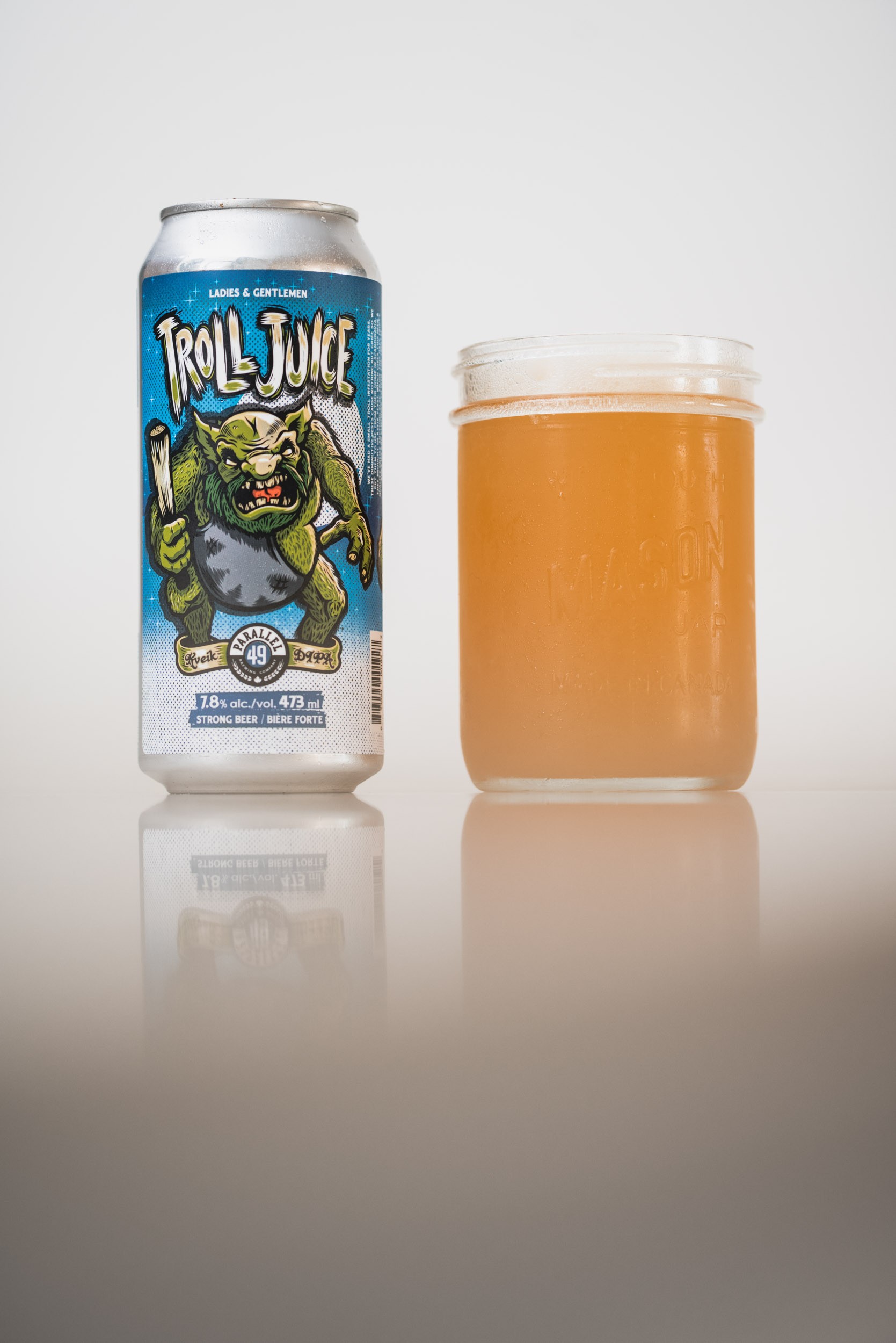 Parallel 49 Brewing Troll Juice DIPA Vancouver craft beer vanpours Luke Mikler Photography