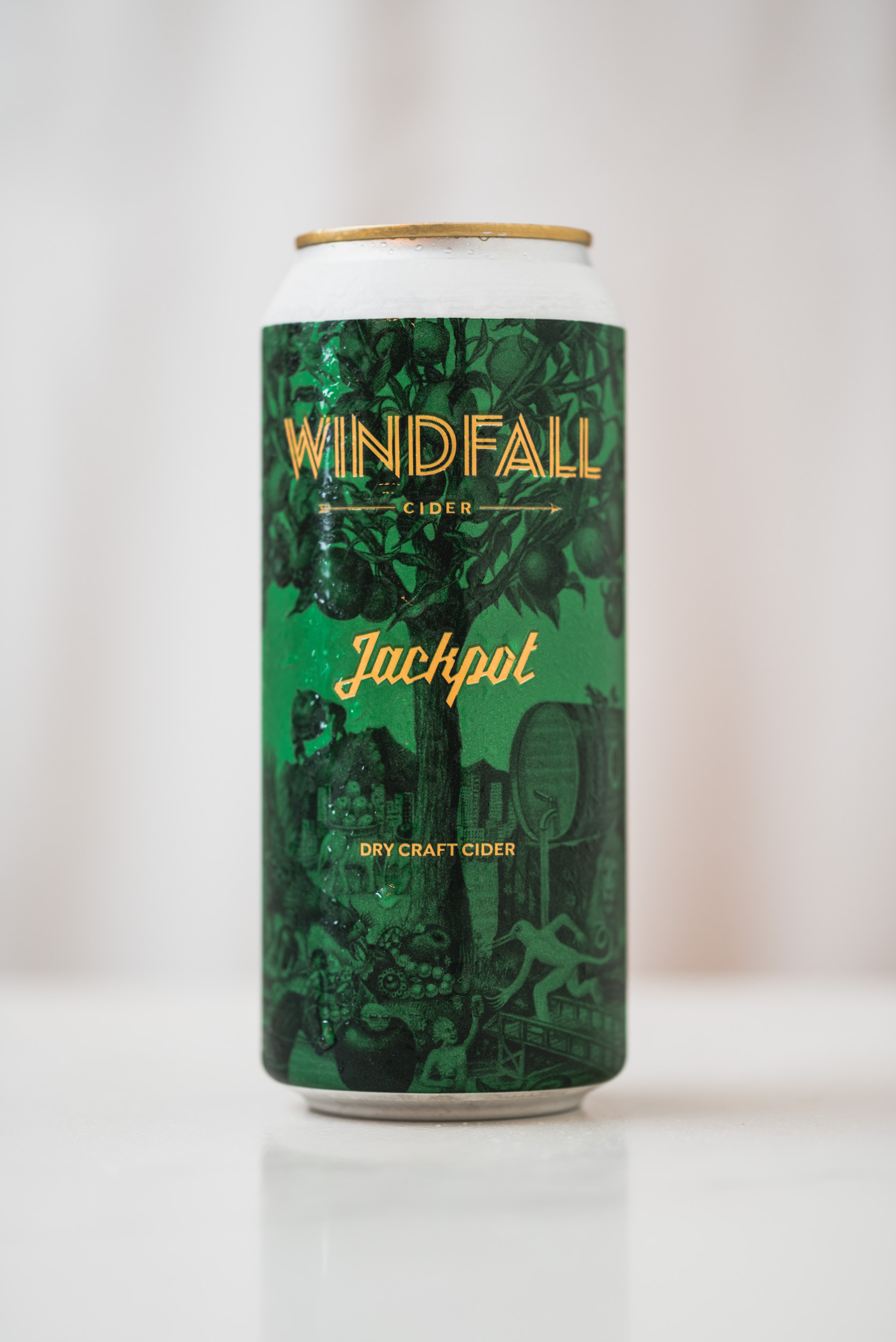 Windfall Jackpot dry craft cider vanpours Luke Mikler photography