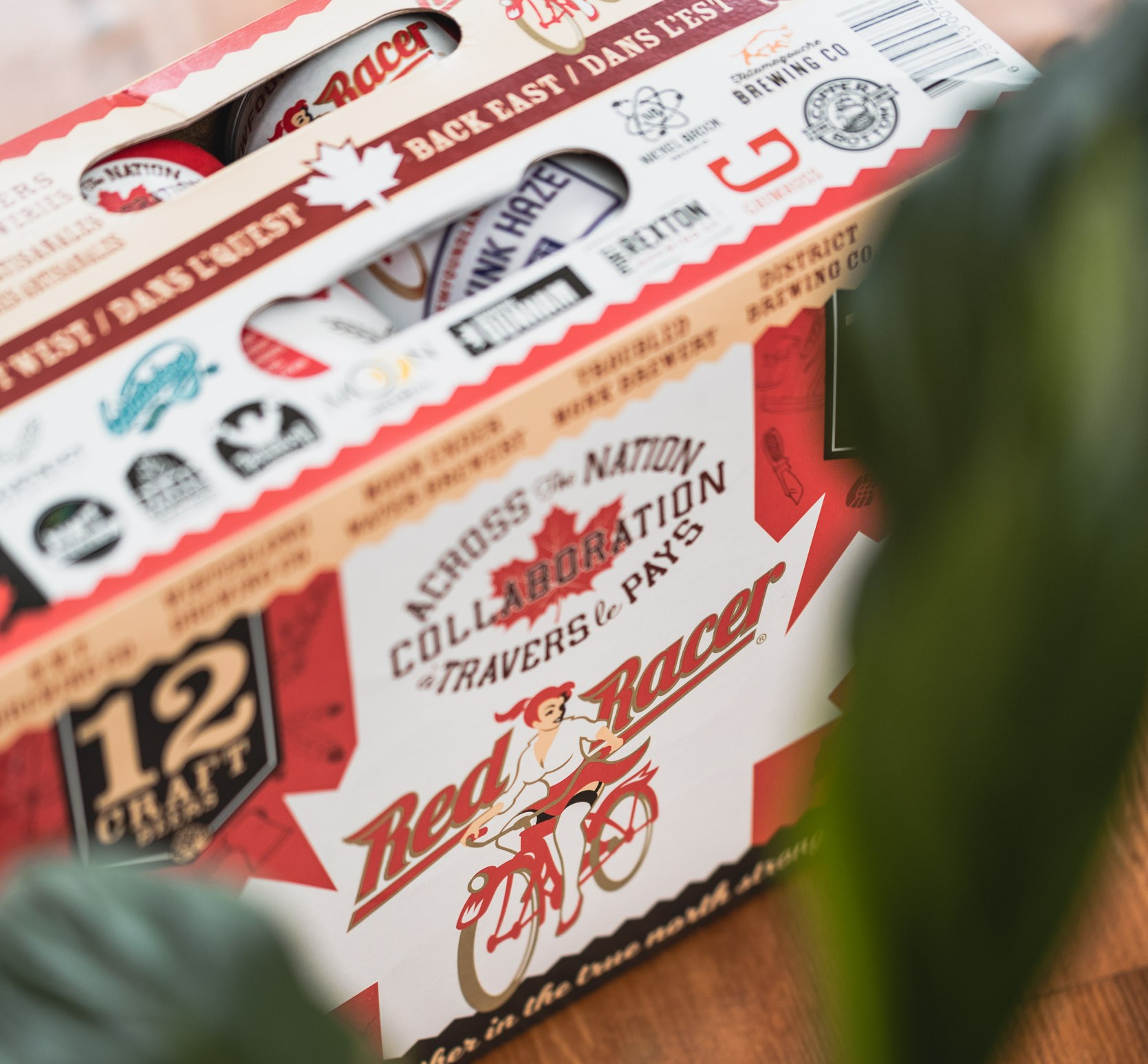 Red Racer Brewing Across the Nation collaboration pack.