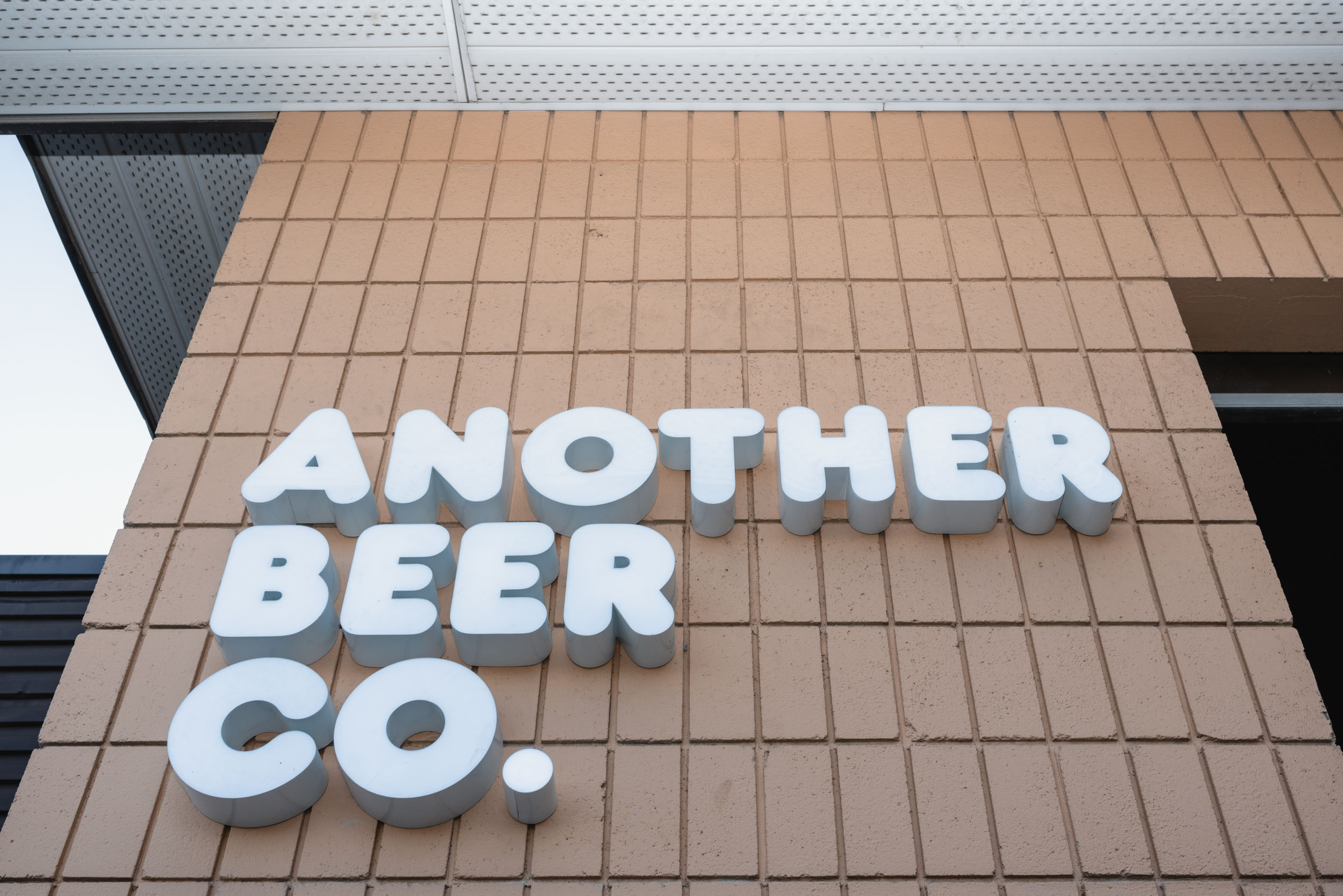 Another Beer Company signage