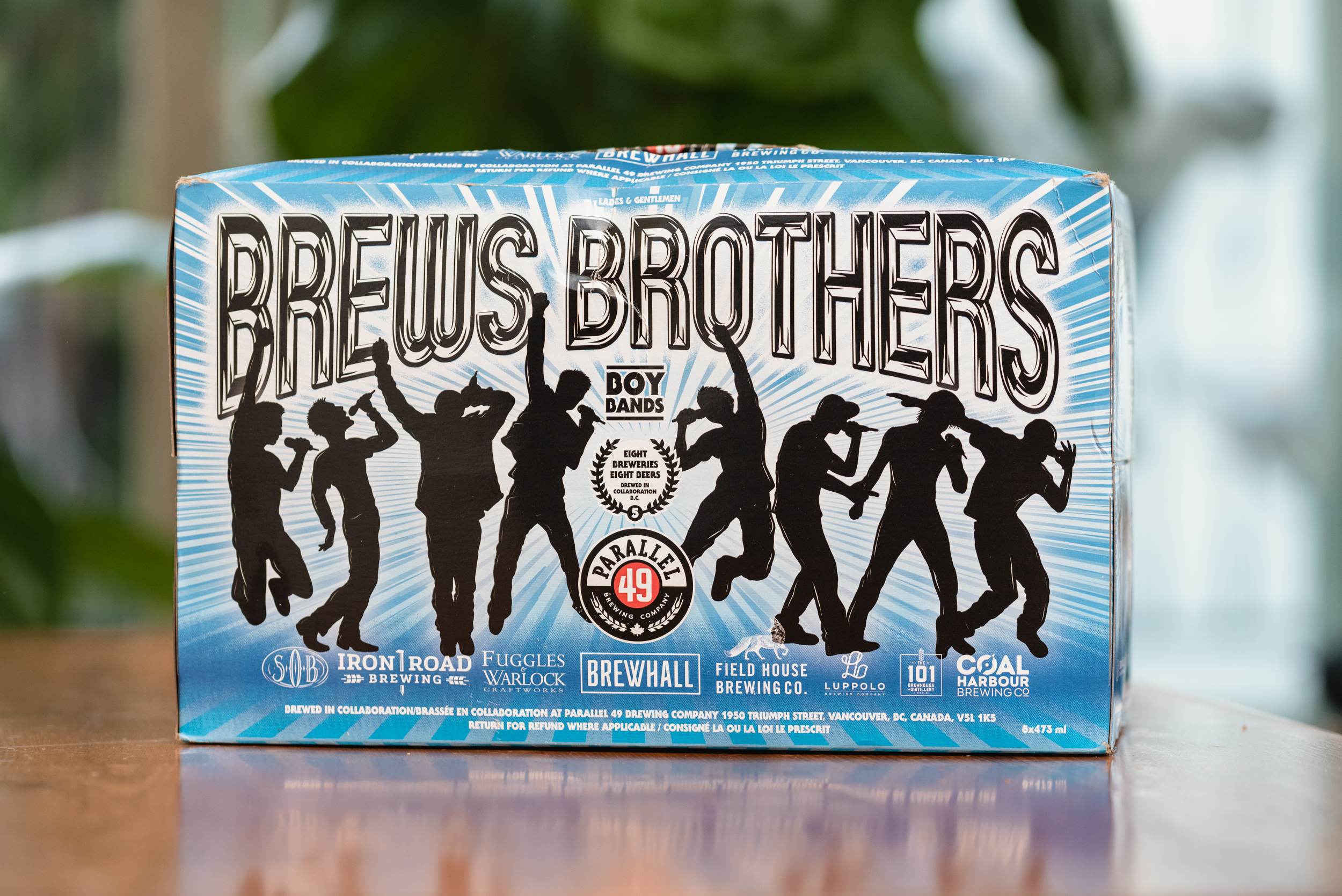 Parallel 49 Brewing Brews Brothers Boy Bands packaging