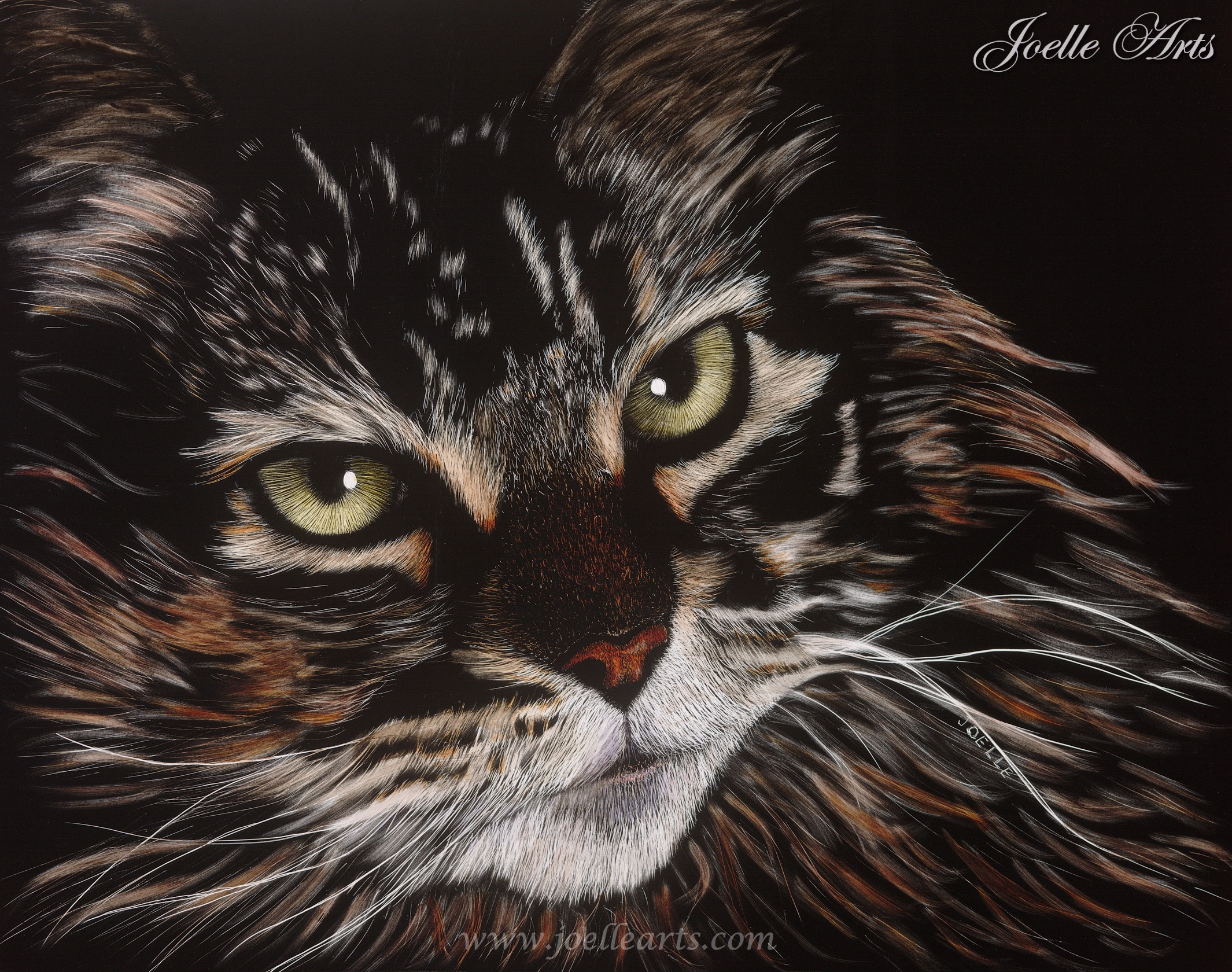 """""""Marion's Cat"""" - Year: 2007Size: 11"""