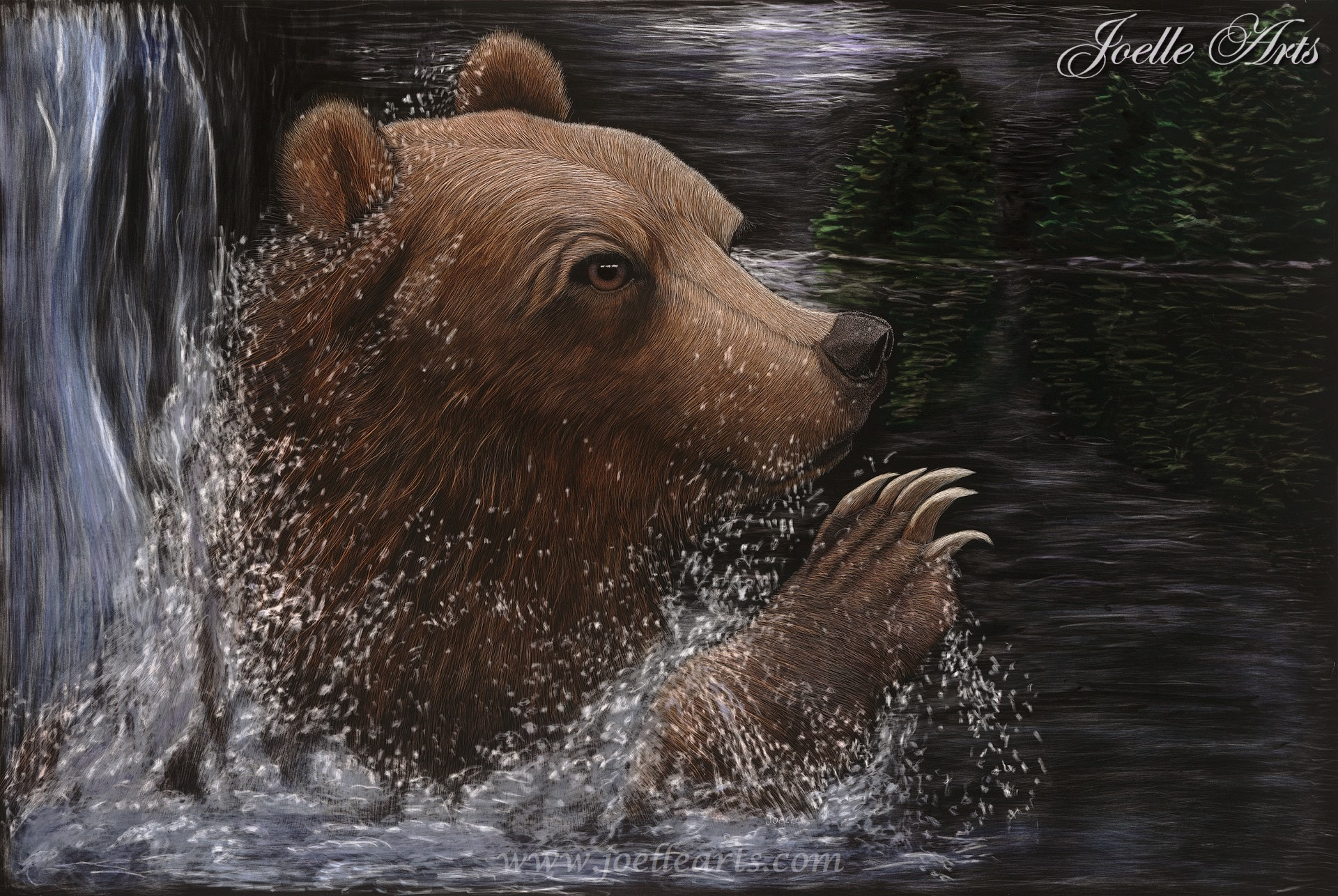 """Midnight Spa"" The Brown Bear"