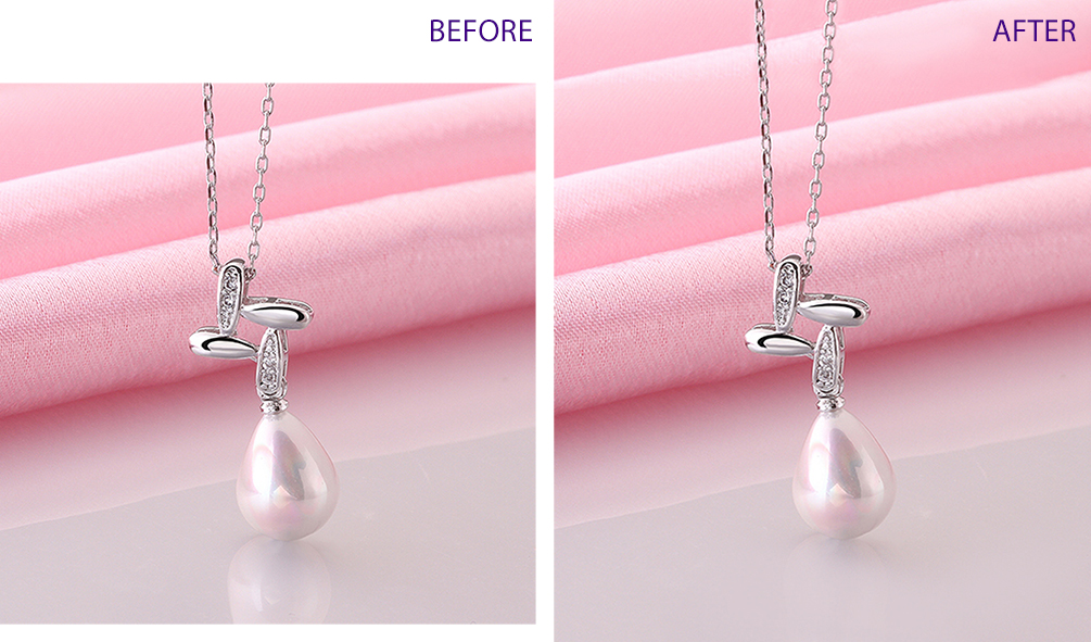 Per image guidelines for the client, the image on the left needed to have the background extended.