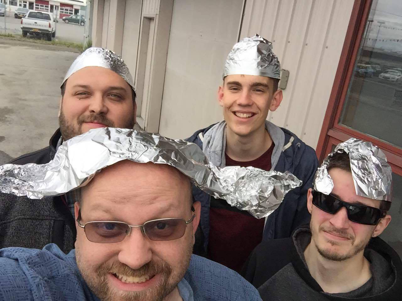 Team In Tinfoil Hats
