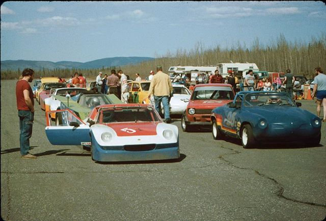 Tanacross, Spring 1986 How awesome is this lineup for wheel to wheel! … 📷 Marcus Oder Club archives … #tanacross #highspeedautocross #wheeltowheel #ascc #aasclc #alaskasportscarclub #aksportscarclub #80s #filmphotography #filmarchive #clubhistory #roadracing #racecar #cagedcar #racing #tok #alaska #carclub #lionsclub #alaskahistory