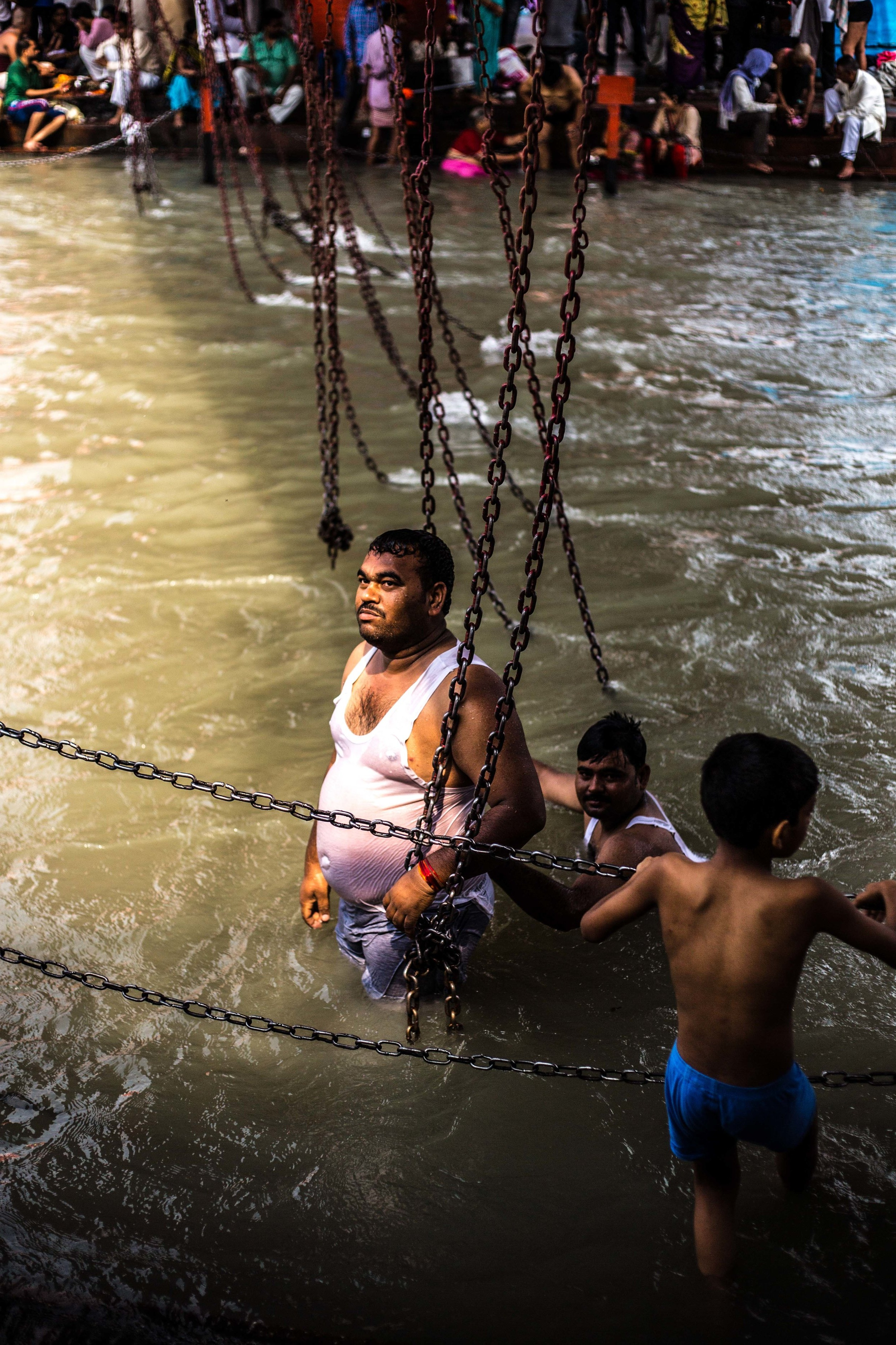 UP THE GANGES -