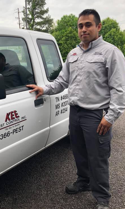 Termite Technician - Luis Sanchez   What i like about the pest industry is that you get to meet customers everyday and control their pest problem, so they can enjoy a pest free home.