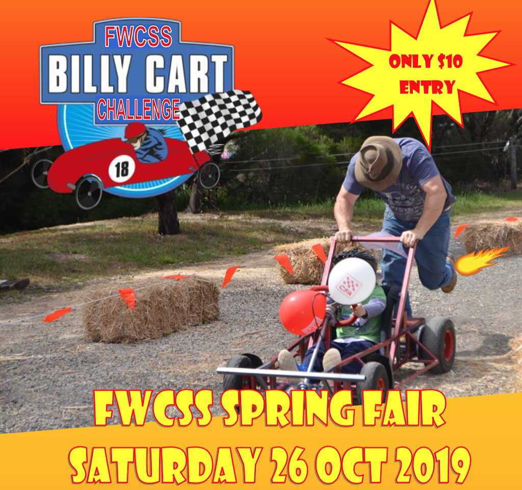 Entry Form for FWCSS Billy Cart Challenge. (PDF 472KB)