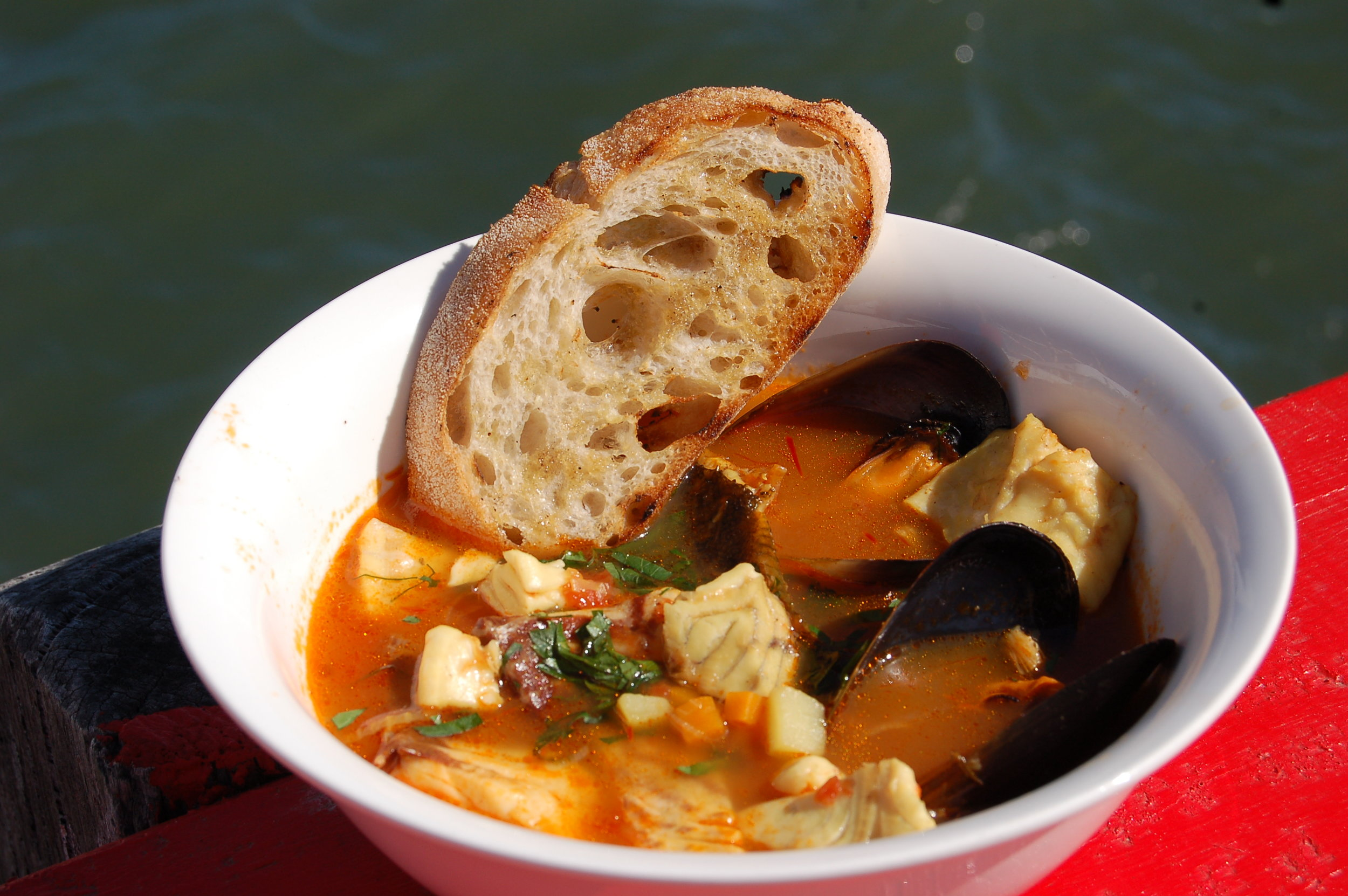 My version of the famous Bouillabaisse