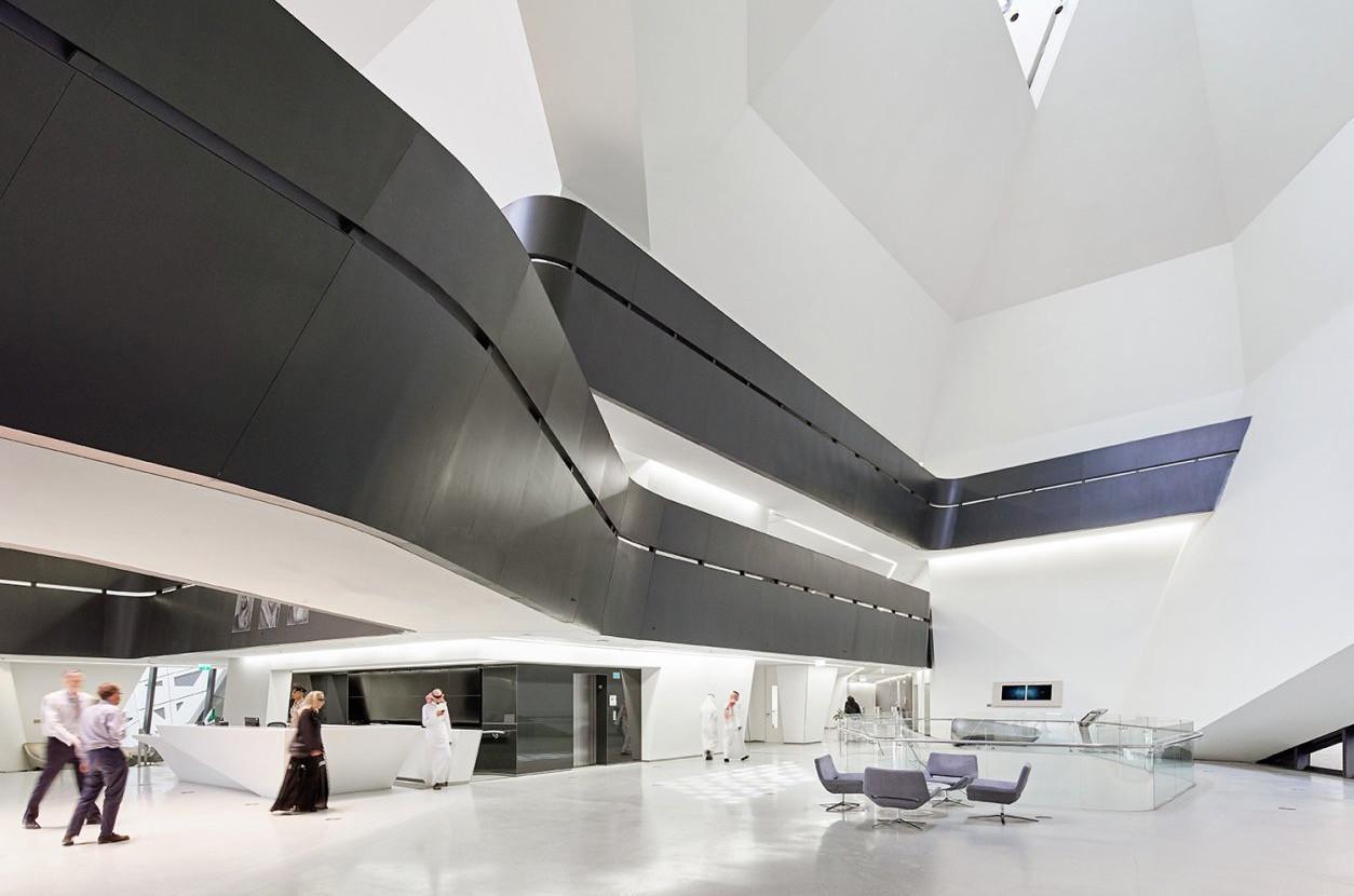 KAPSARC Iconic Building |  Zaha Hadid Architects | Riyadh, KSA