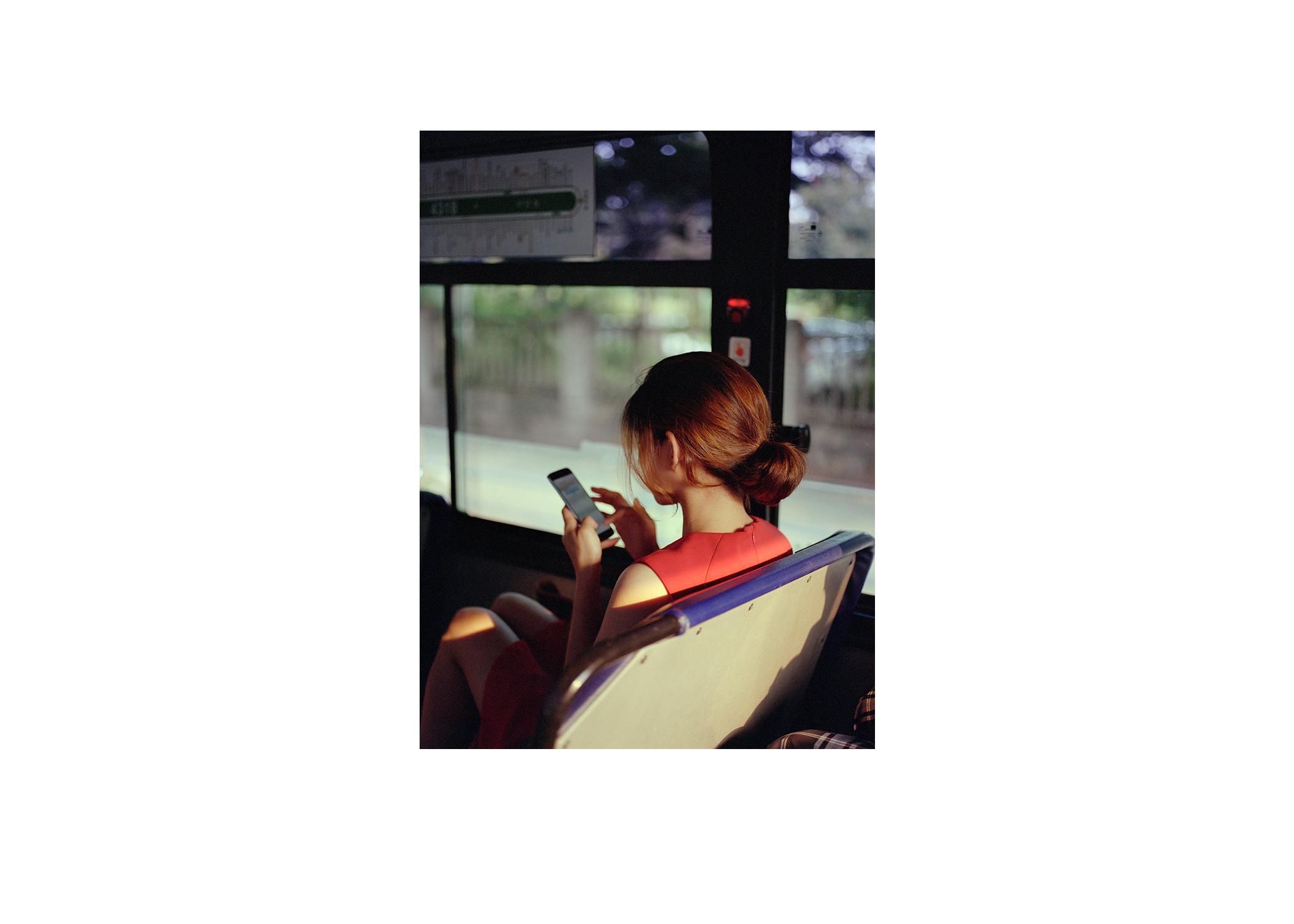 girl red dress bus.jpg