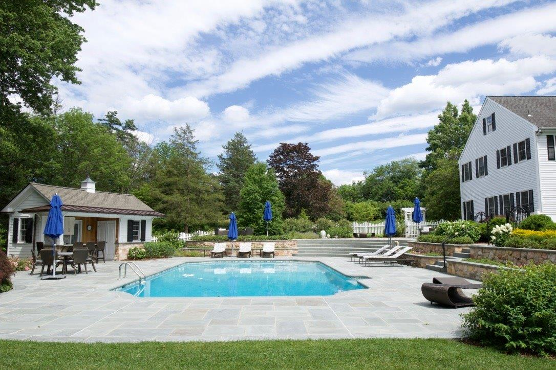 Stunning pool and patio in Randolph, NJ